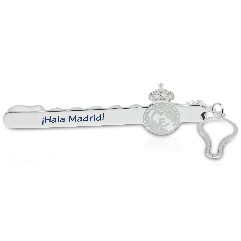 Real Madrid Tie Slide Silver