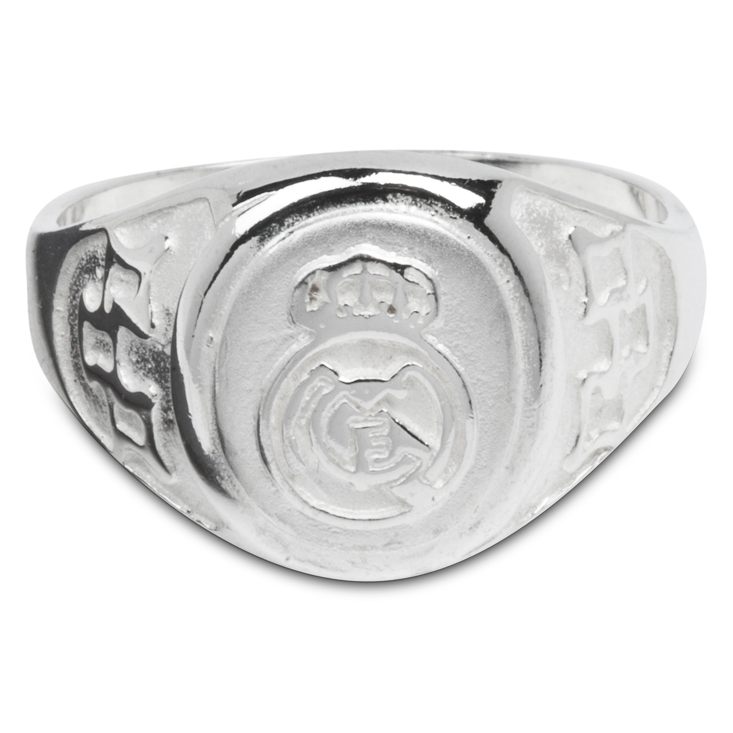 Real Madrid Crest Ring Silver