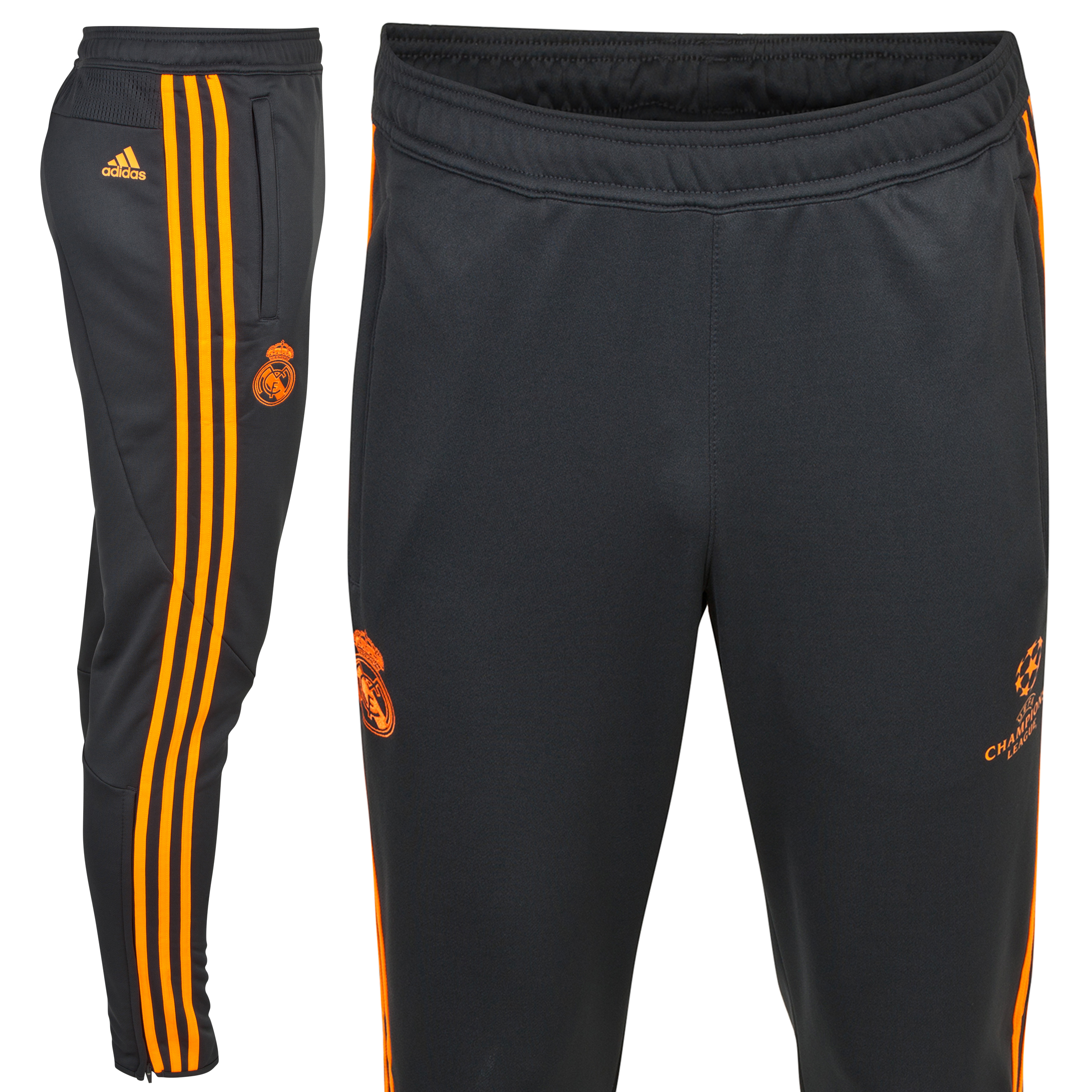 Real Madrid UCL Training Pant - Dark Shale/Zest