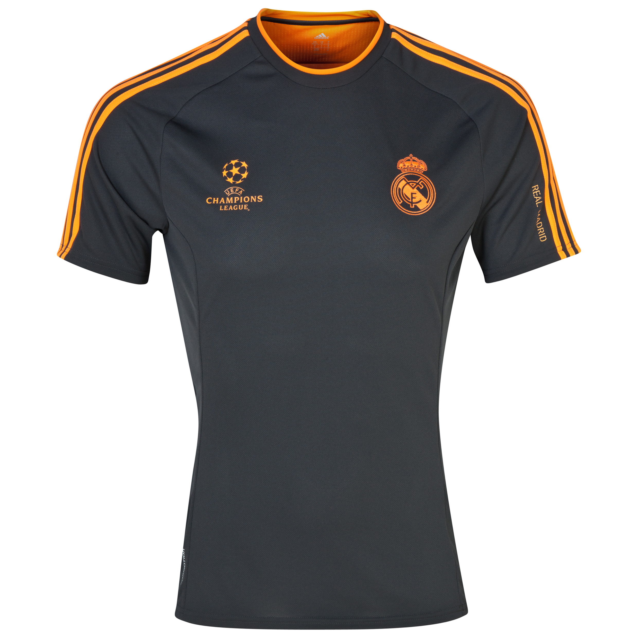 Real Madrid UCL Training Climacool Jersey - Dark Shale/Zest