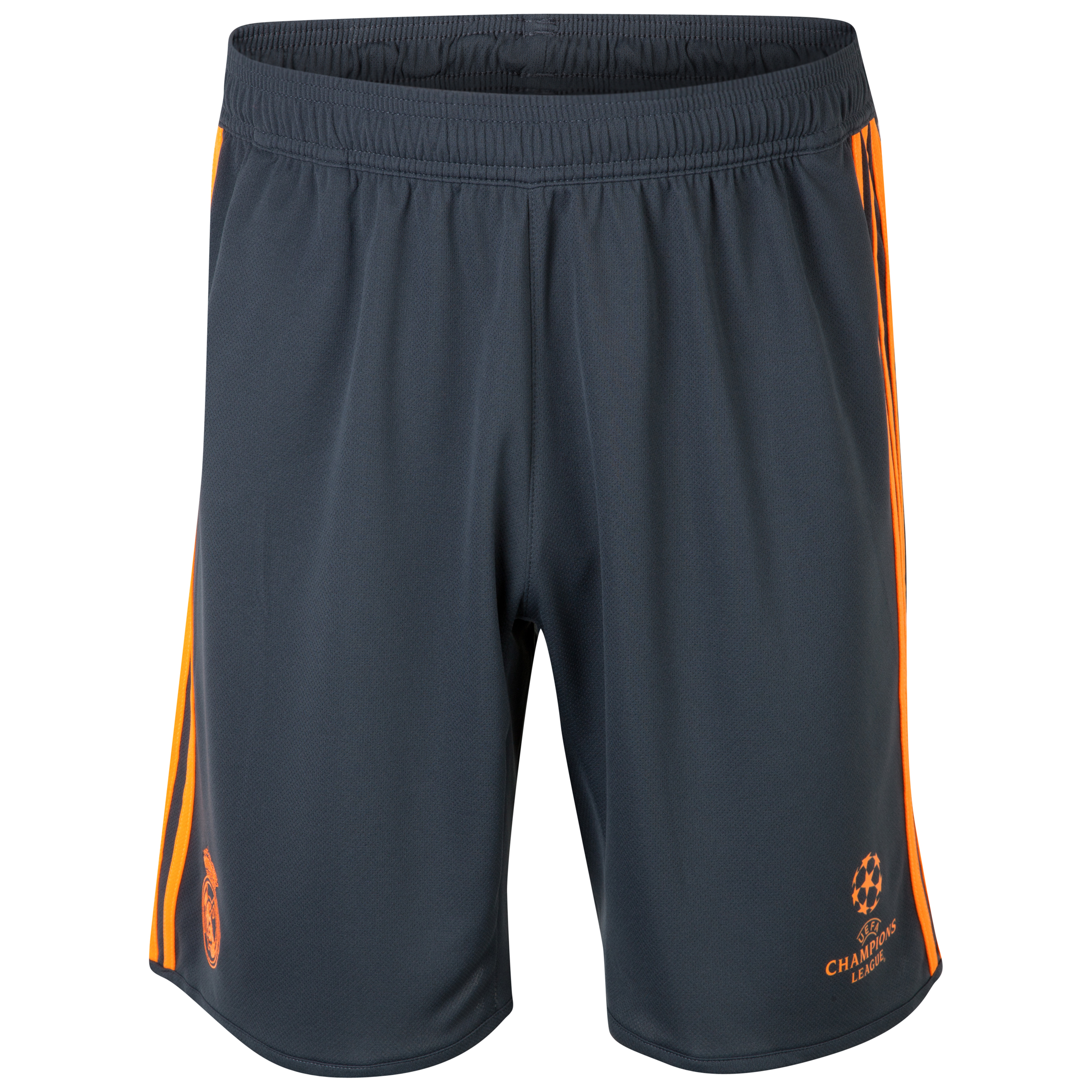 Real Madrid UCL Training Shorts  - Dark Shale/Zest Dk Blue