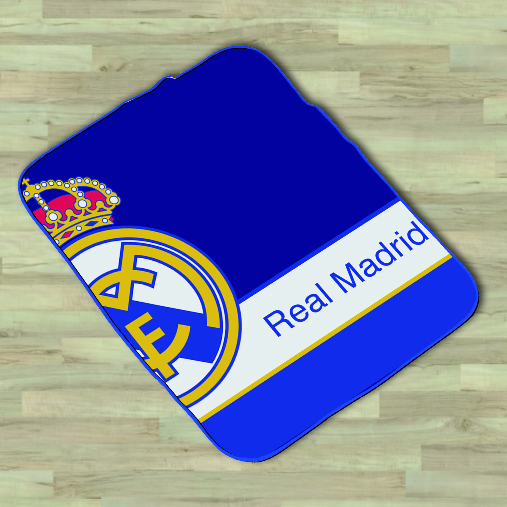Real Madrid VIP Velvet Blanket - 130 x 160