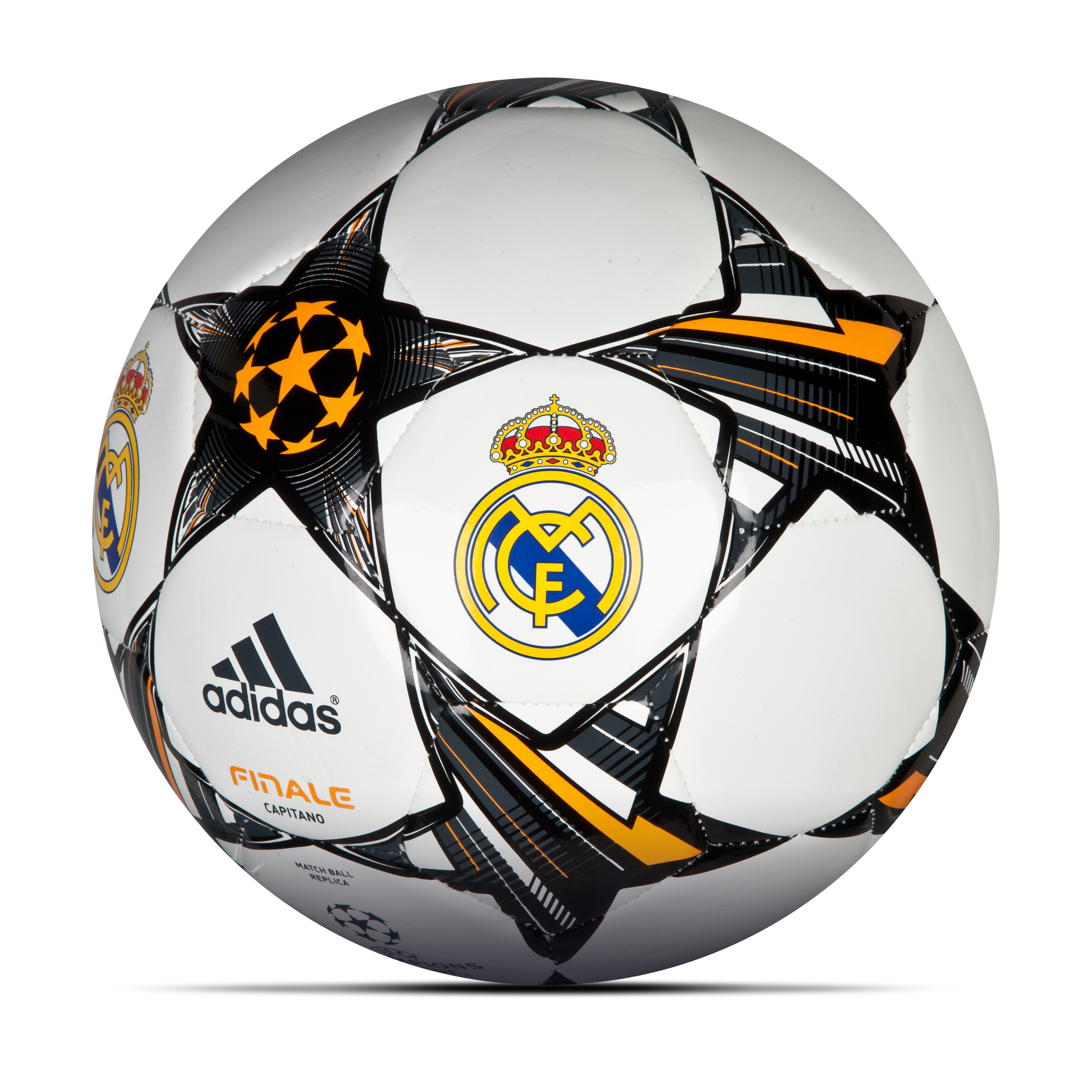 Real Madrid Finale 13 UEFA Champions League Capitano Football White