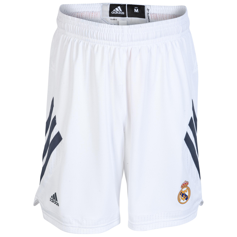 Real Madrid Home Basketball Shorts 2013/14 White