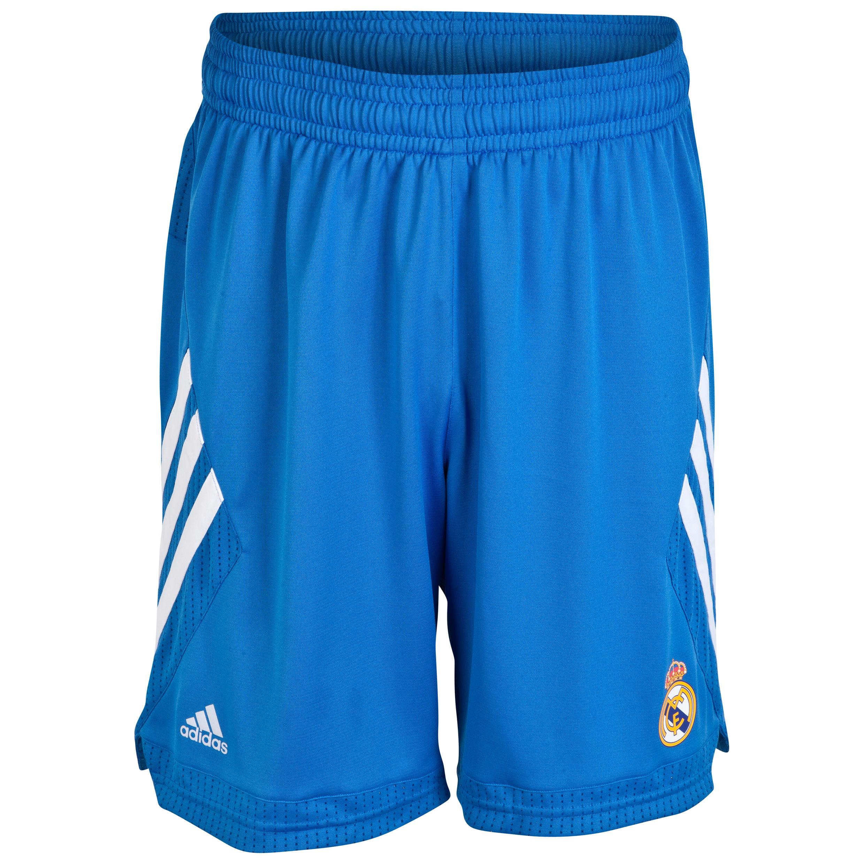 Real Madrid Away Basketball Shorts 2013/14 Blue