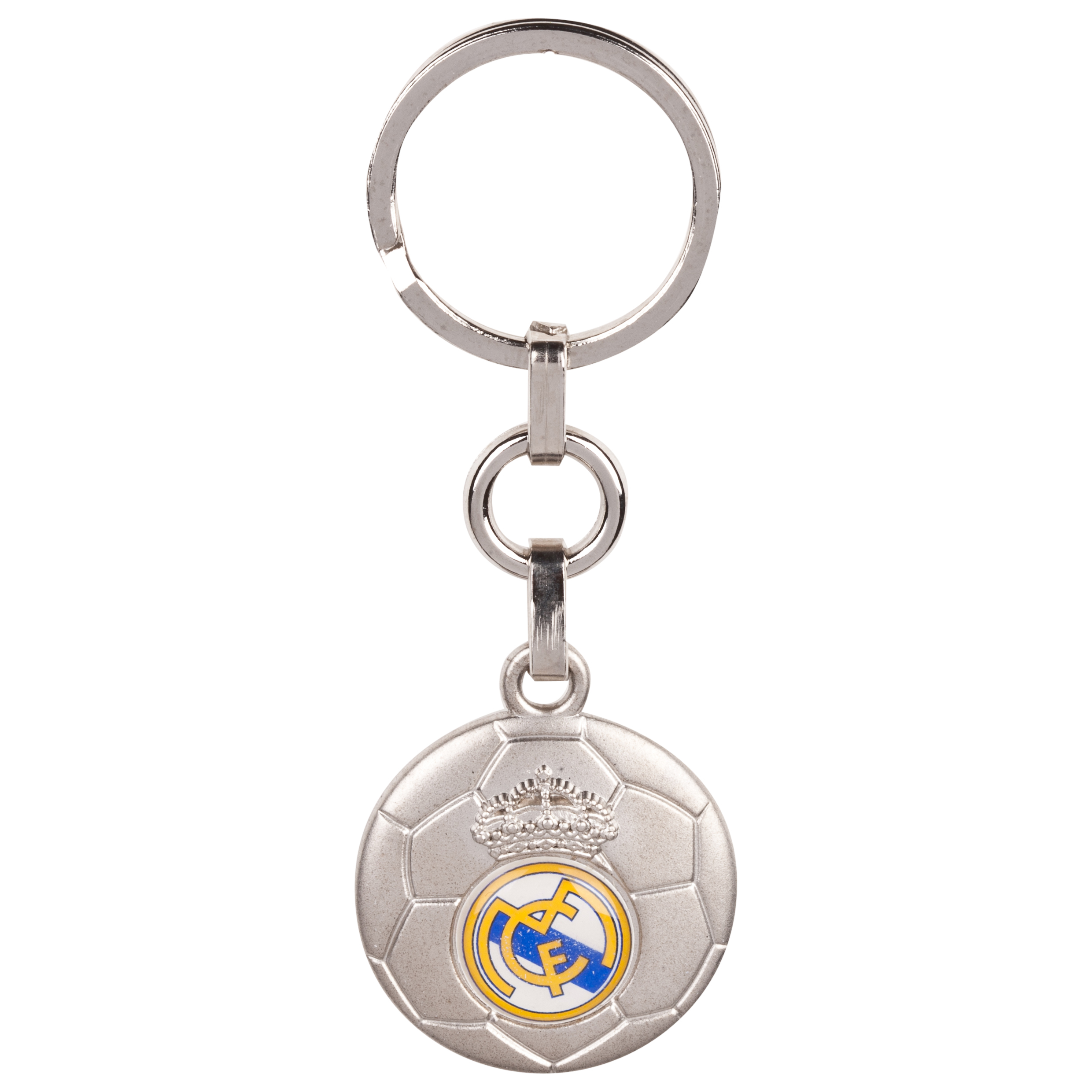 ?Llavero bal?on escudo del Real Madrid