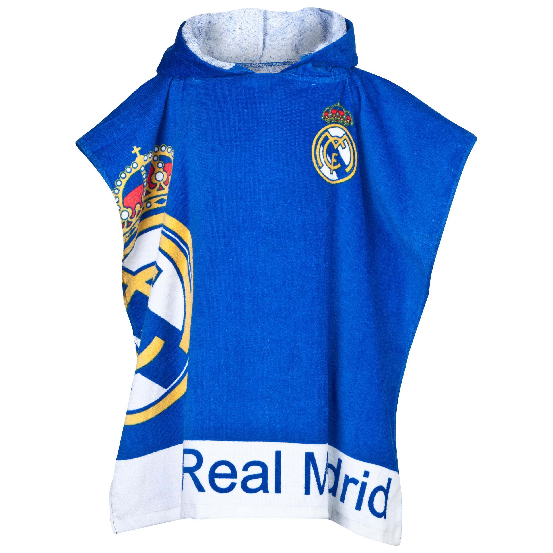 Real Madrid Crest Poncho 60cm x 120cm