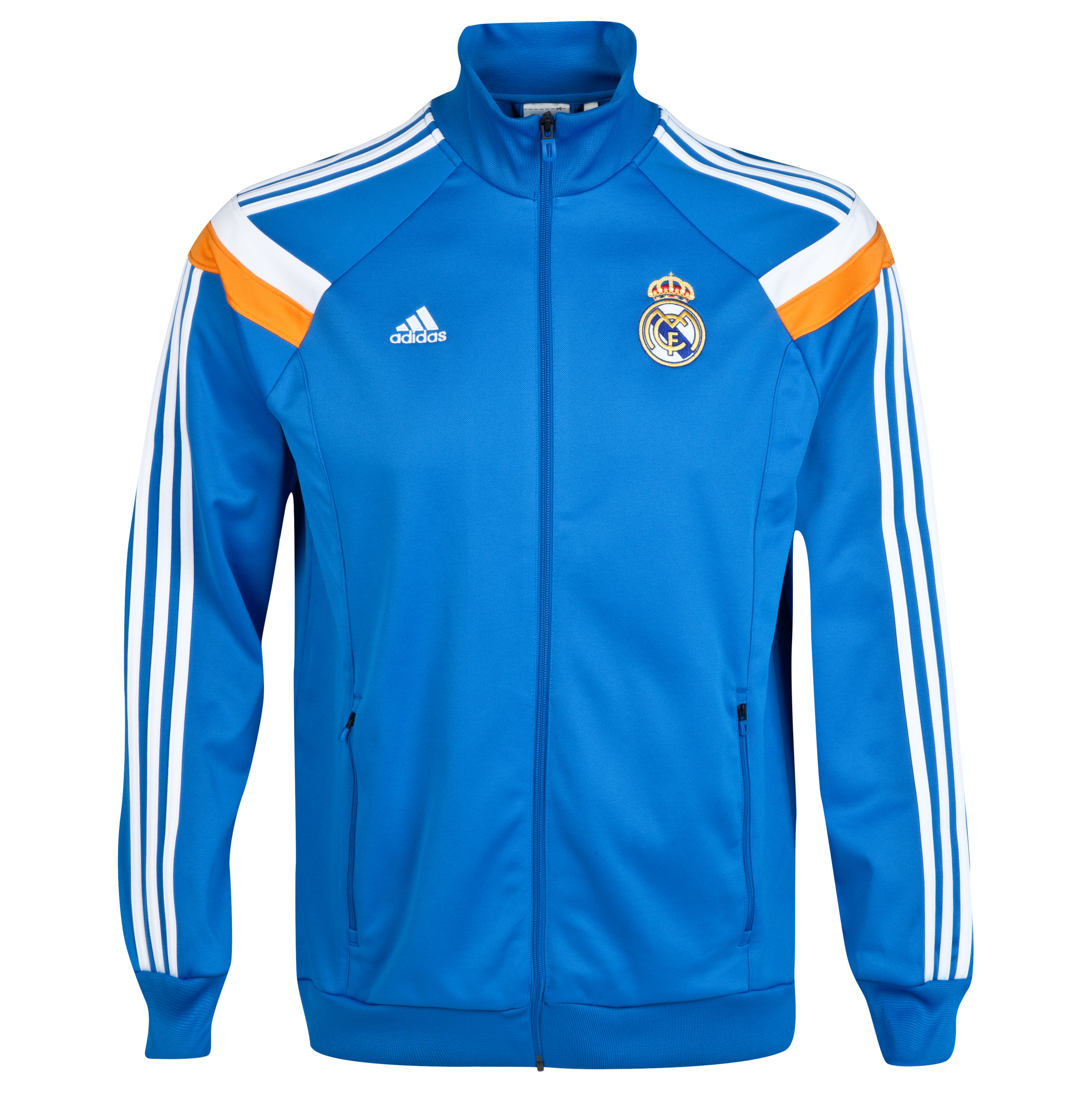 Real Madrid Anthem Jacket Blue