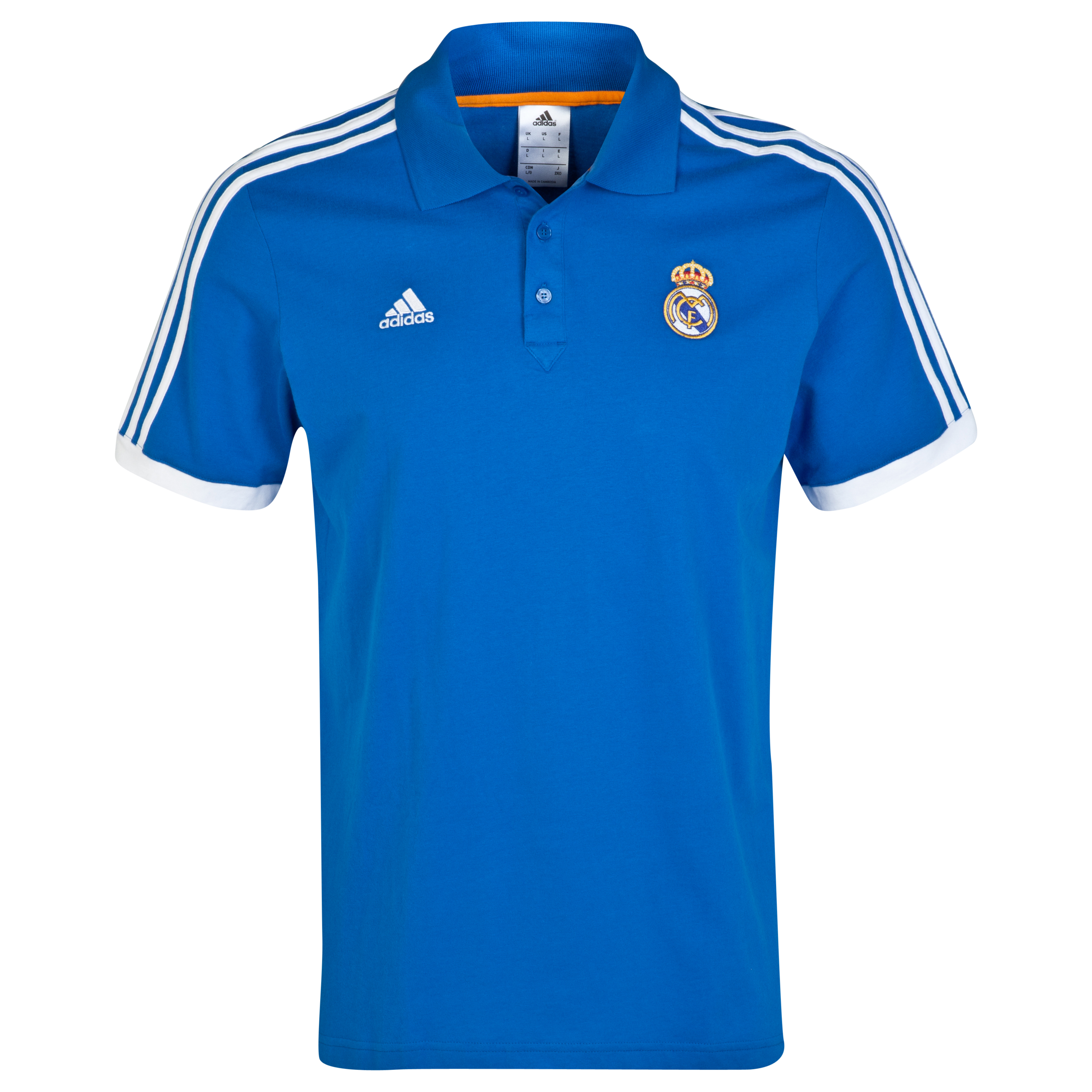 Real Madrid Core Polo Blue