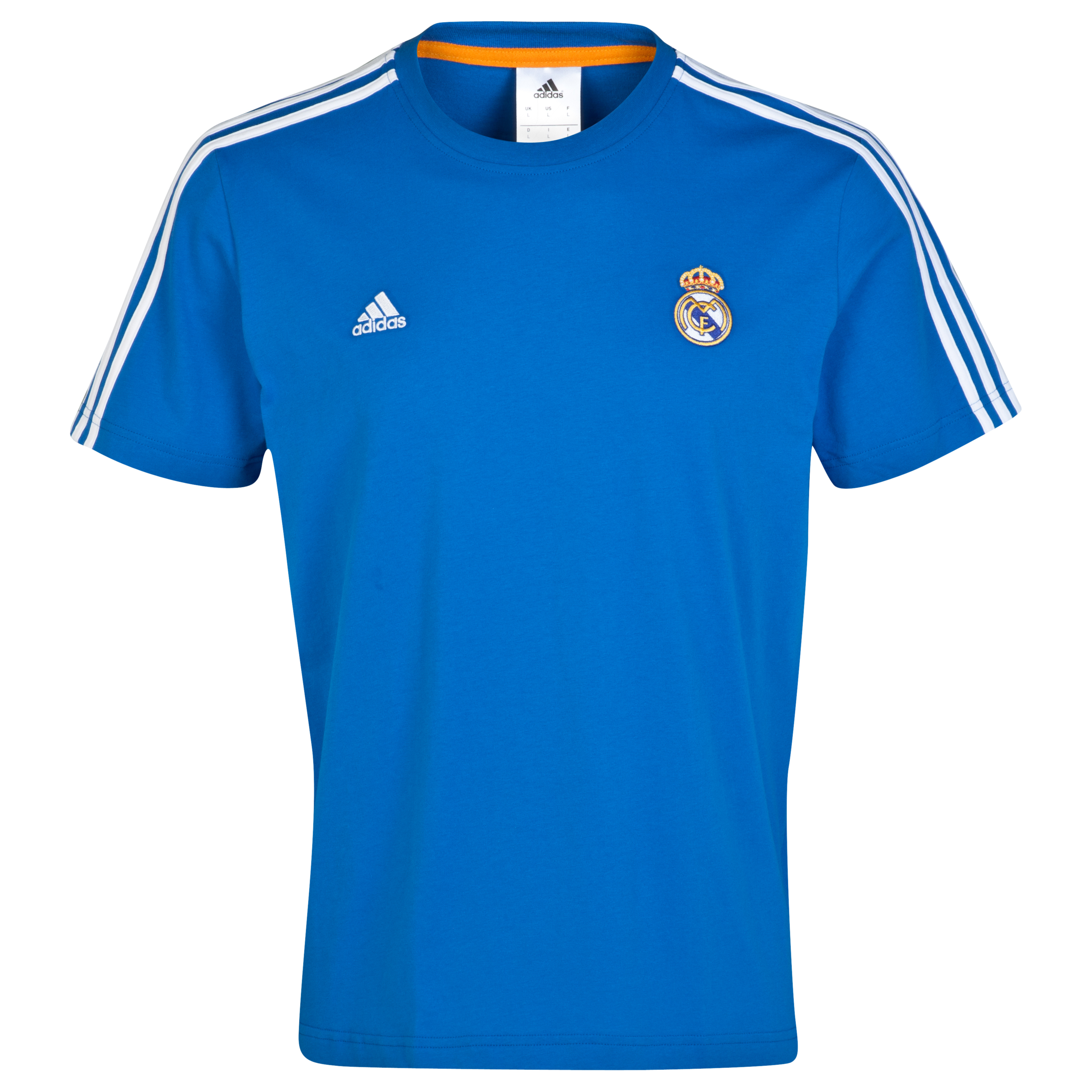 Real Madrid Core T-Shirt Blue