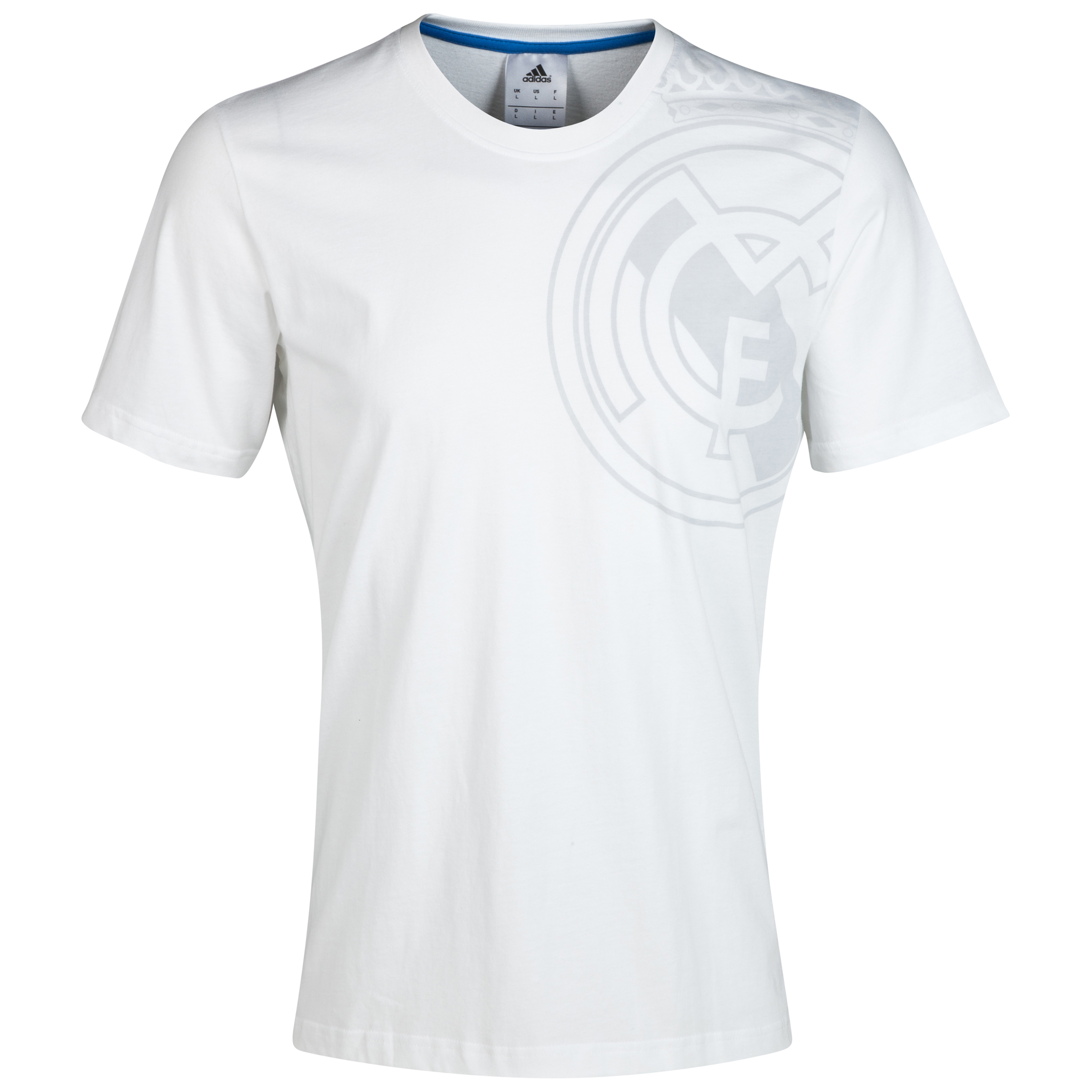 Real Madrid Graphic T-Shirt White