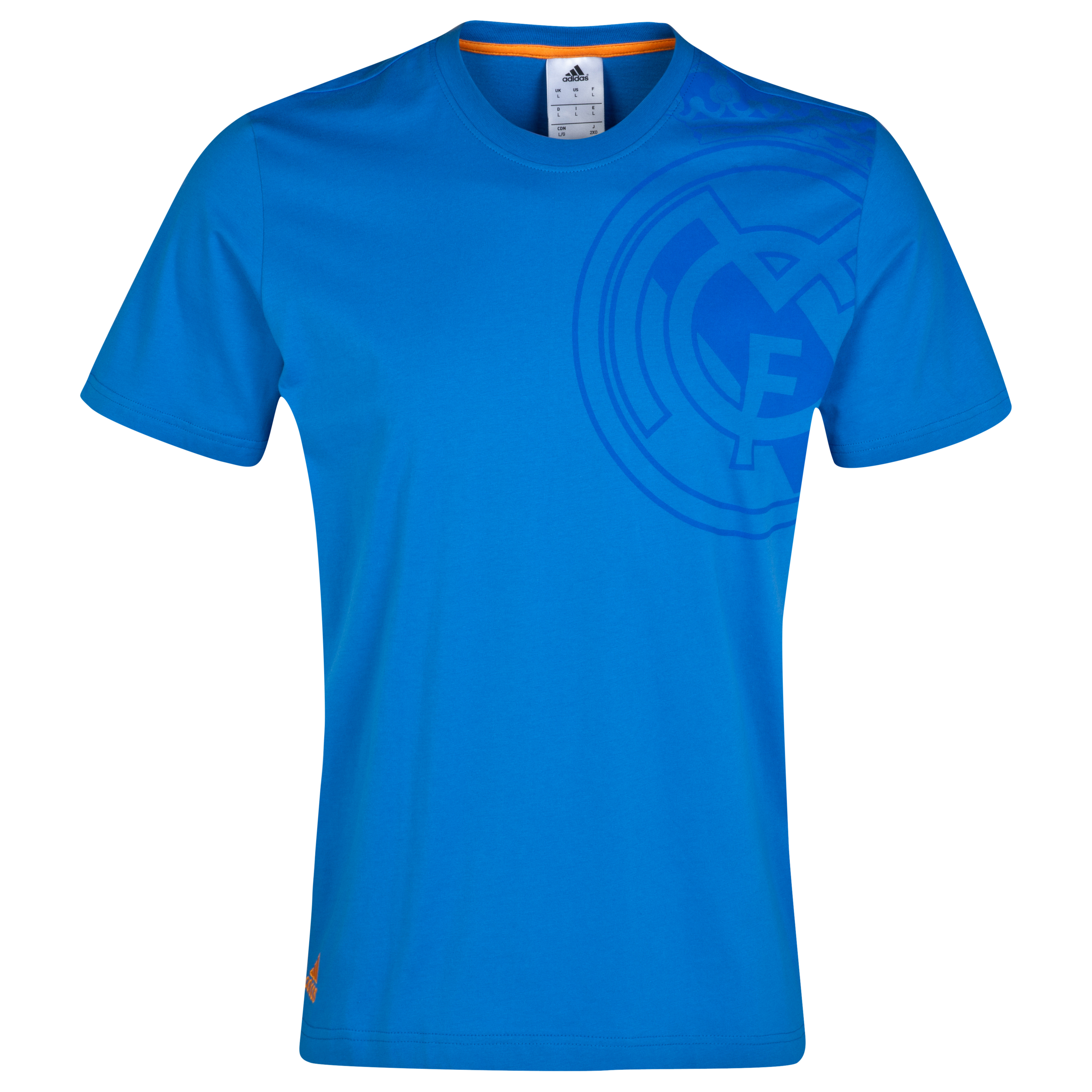 Real Madrid Graphic T-Shirt Blue