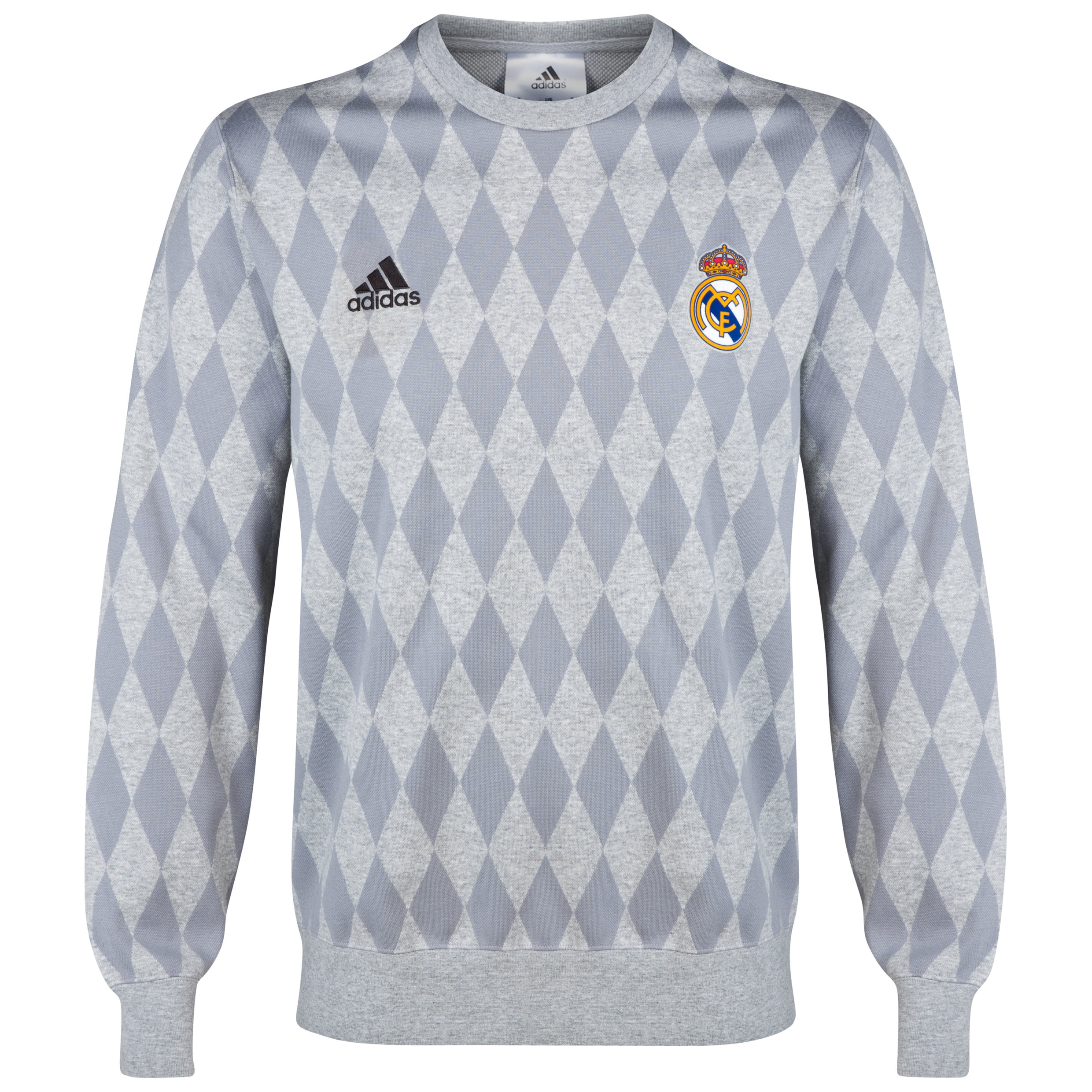 Real Madrid Sweatshirt Grey