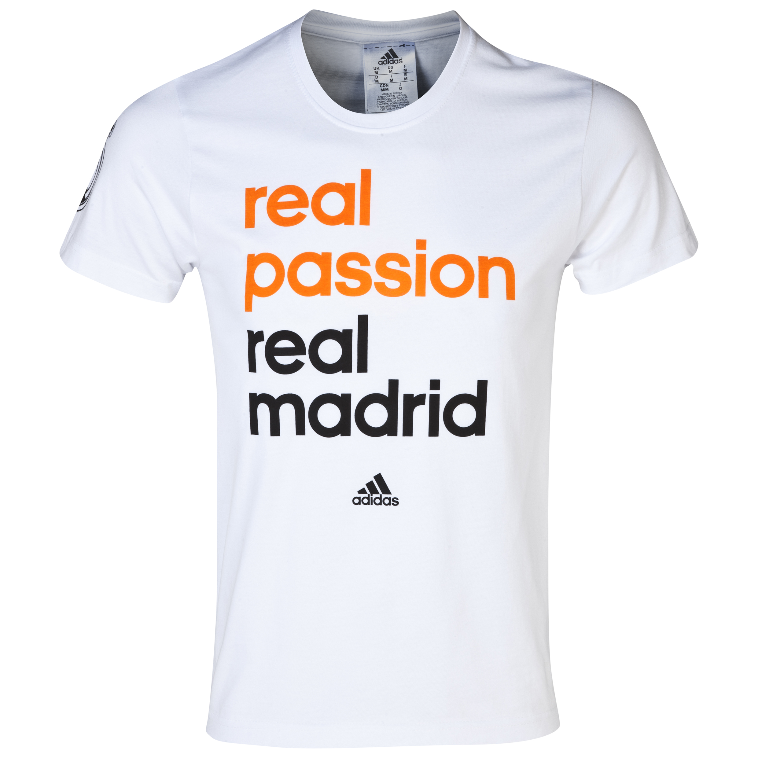 Real Madrid Campaign T-Shirt White