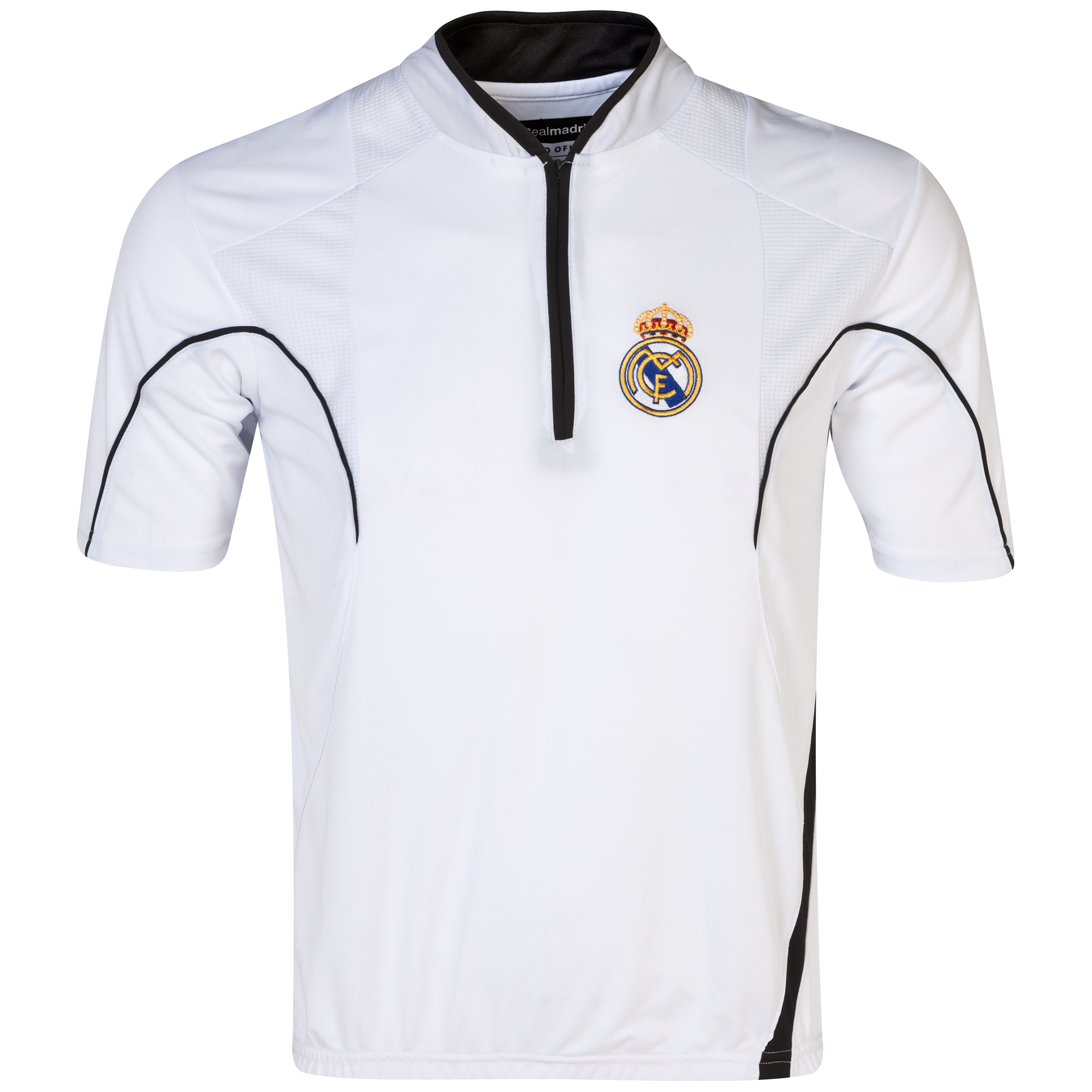 Real Madrid Classic Training T-Shirt - Mens White