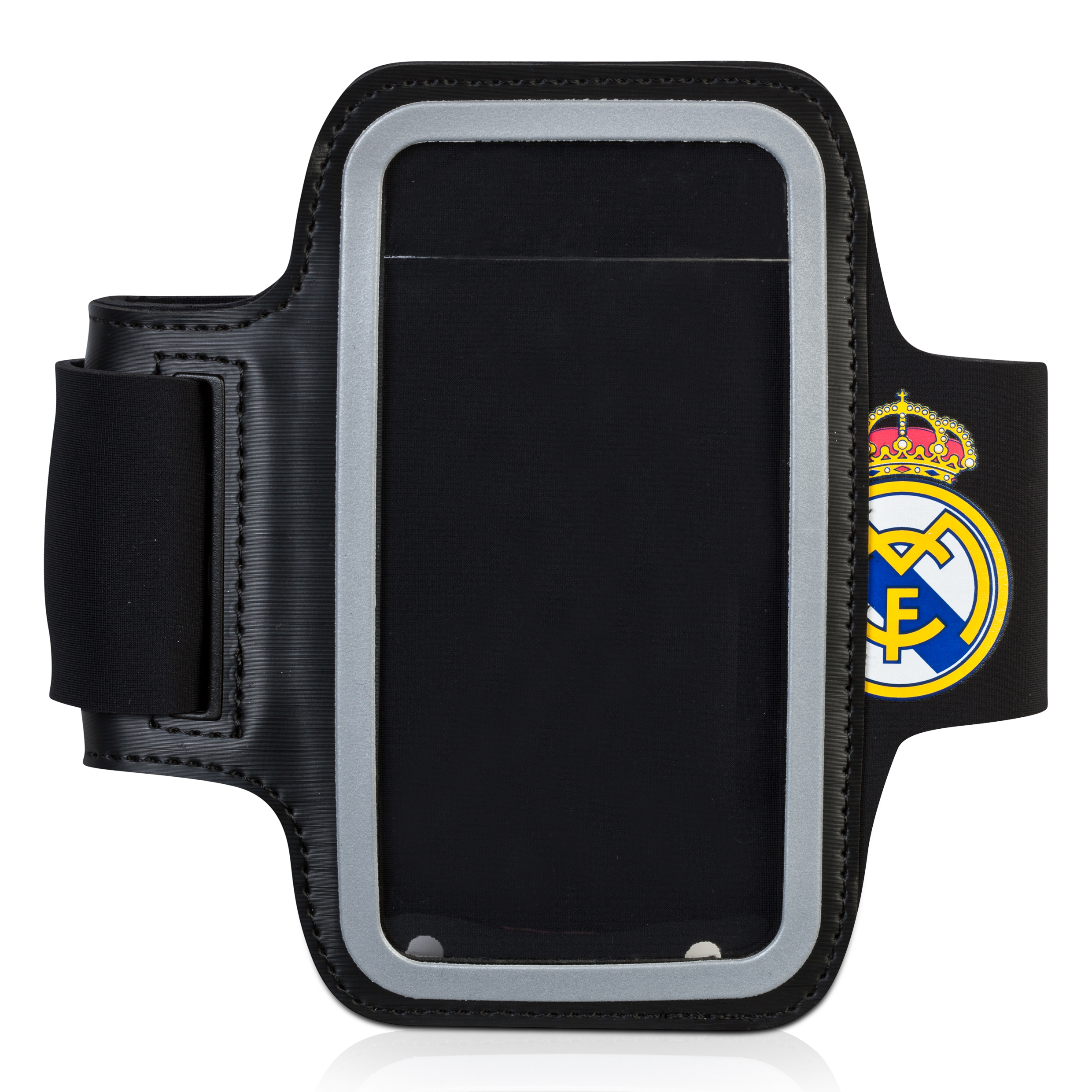 Real Madrid Arm Phone Case L Black