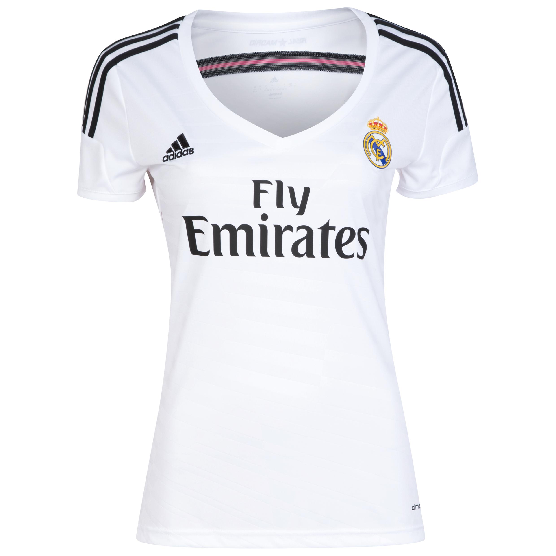 Real Madrid Home Shirt 2014/15 Womens