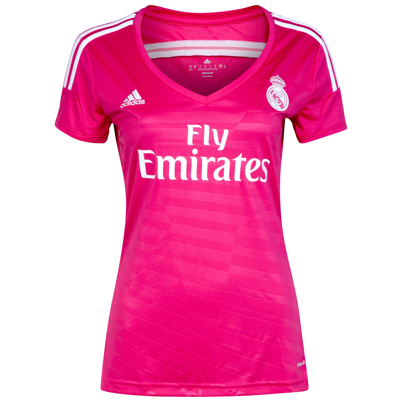 2� Equipaci�n Real Madrid 2014/15 - Mujer- Rosa