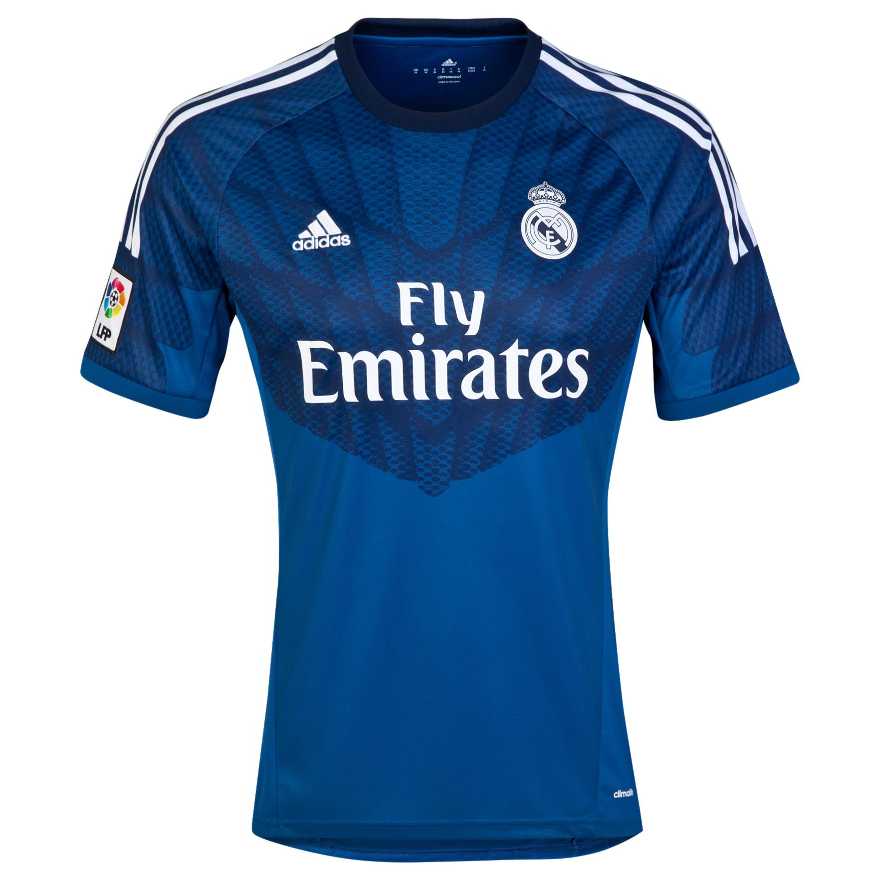 Real Madrid Home GK Shirt 2014/15 Kids