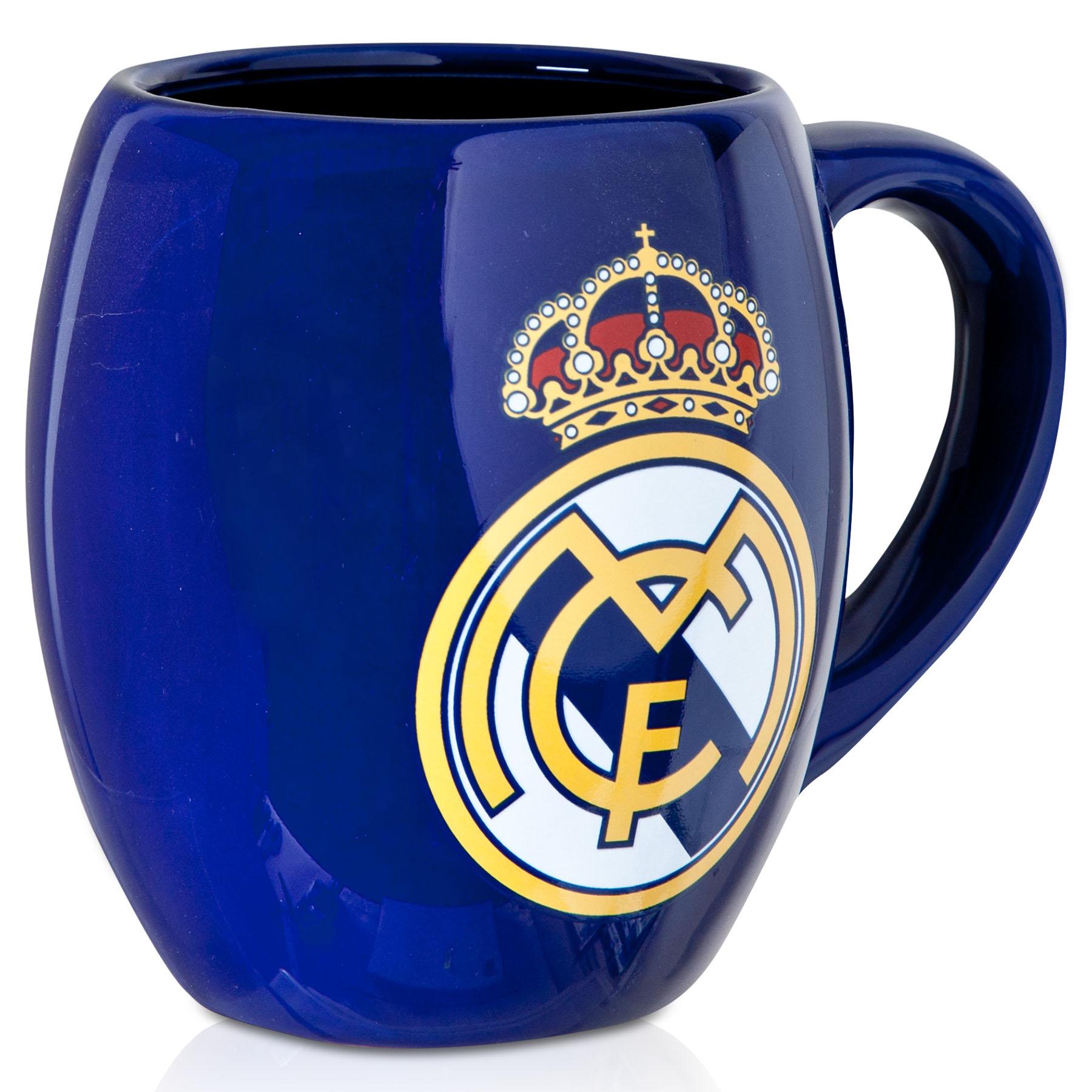 Taza desayuno Real Madrid - Azul