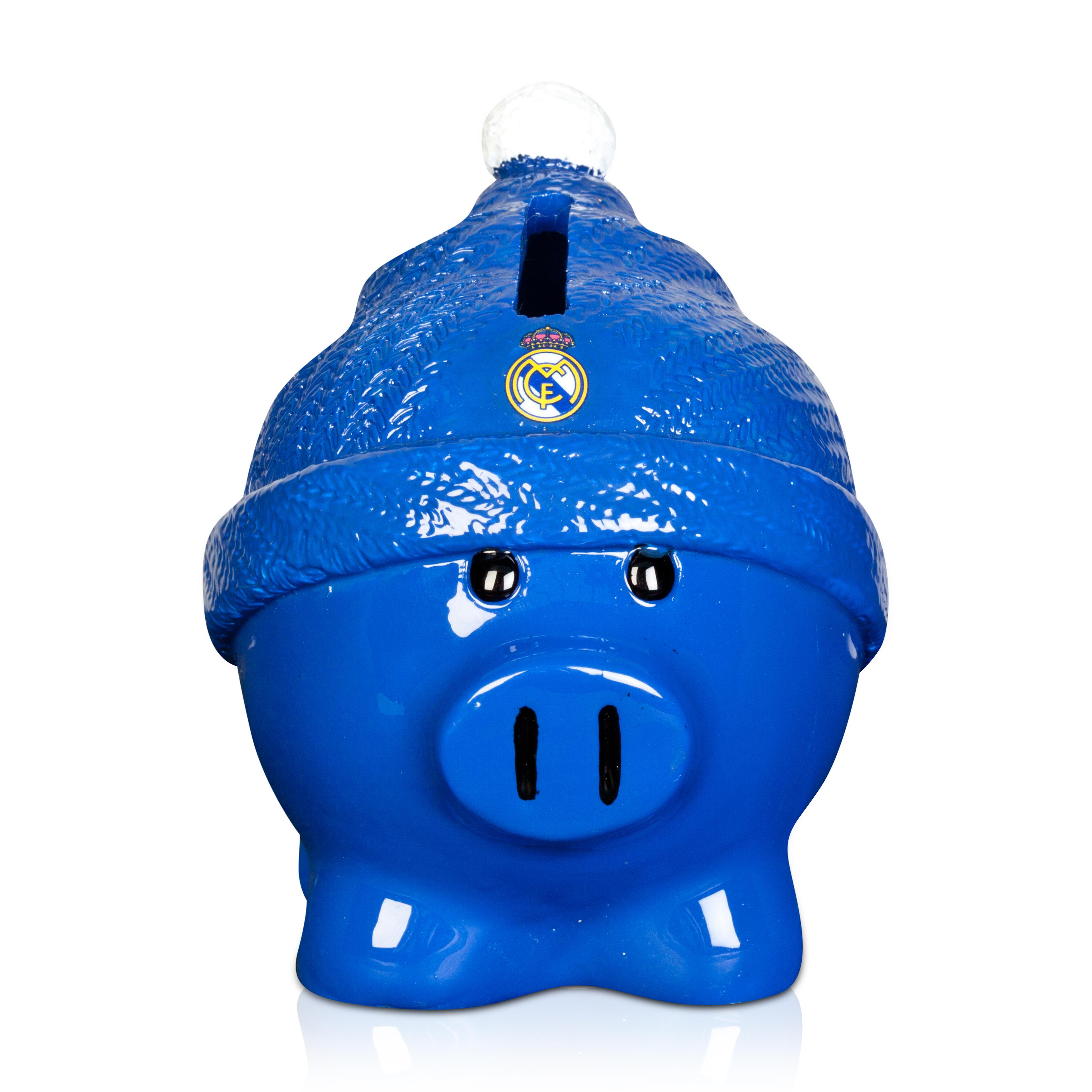 Hucha de cerdito Real Madrid - Azul