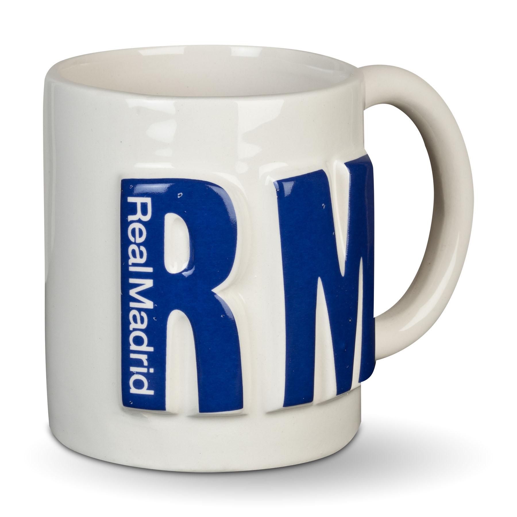 Image of Real Madrid 3D RMFC Mug, White