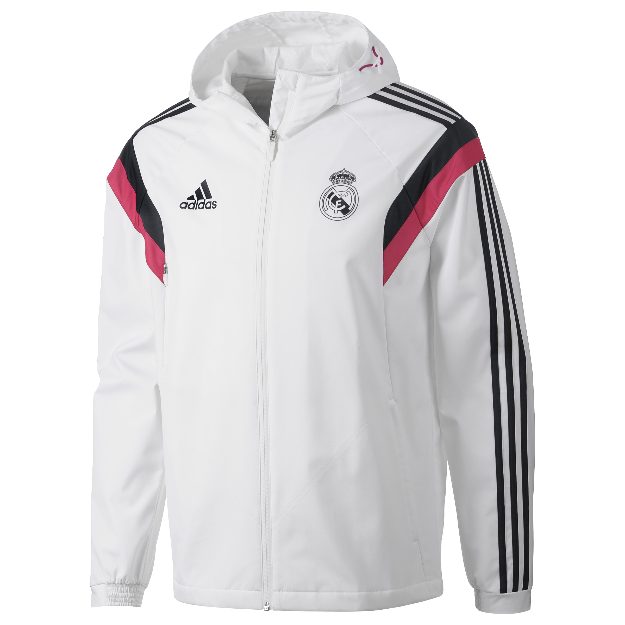 Real Madrid Training Travel Jacket