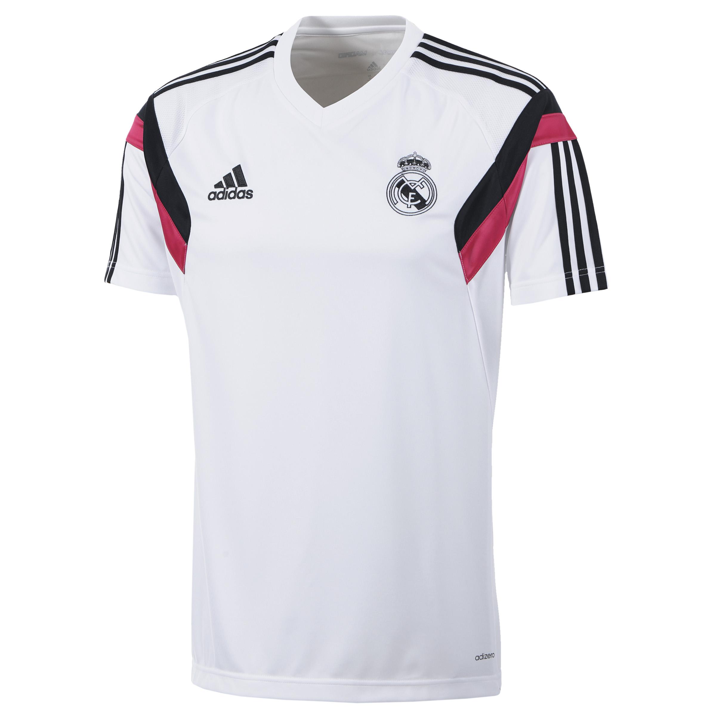 Real Madrid Camiseta de Entrenamiento - Blanca