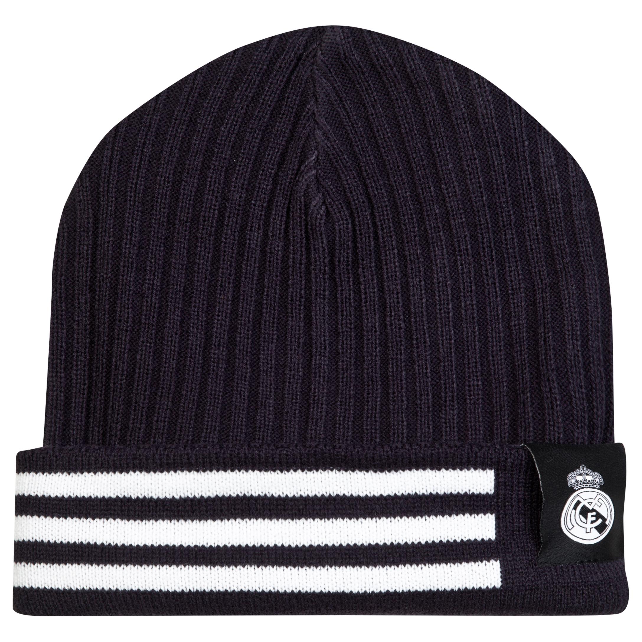 Real Madrid 3 Stripe Woolie Hat