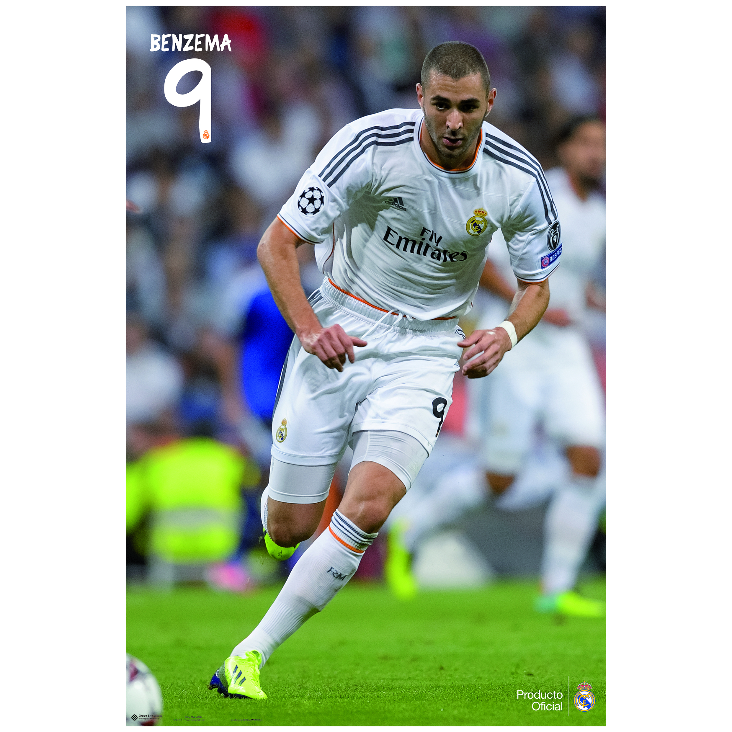 Real Madrid 13-14 Benzema Poster