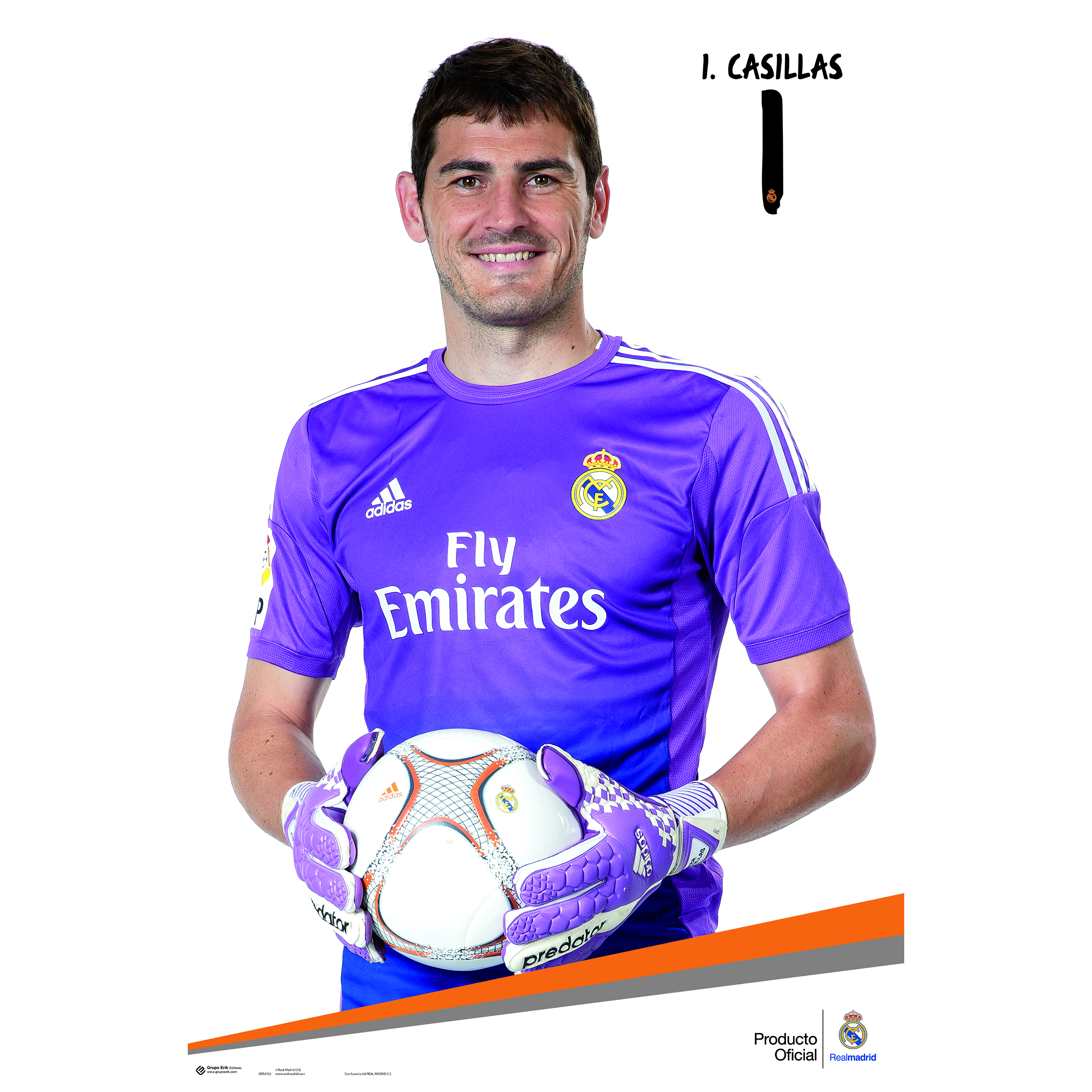 Real Madrid 13-14 Casillas Poster