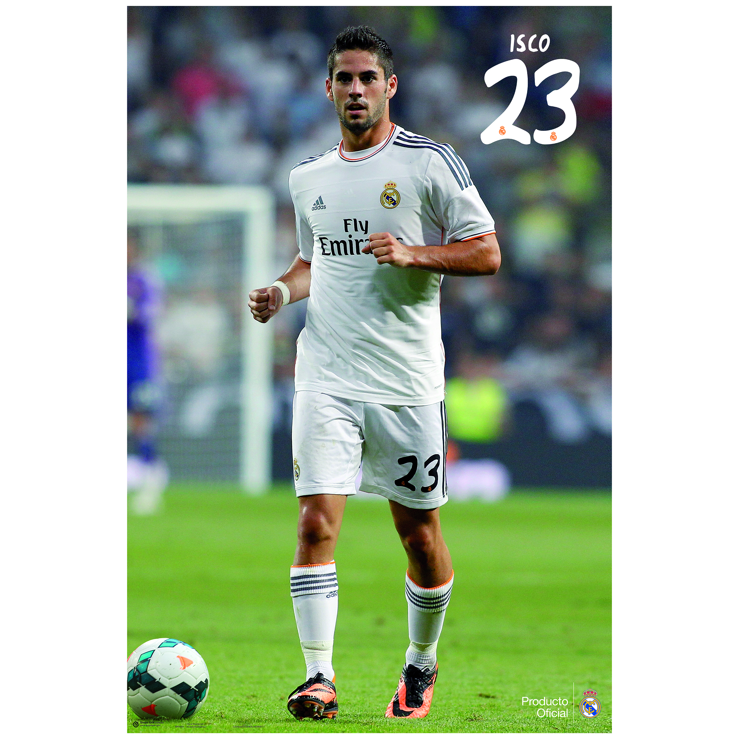 Real Madrid 13-14 Isco Poster