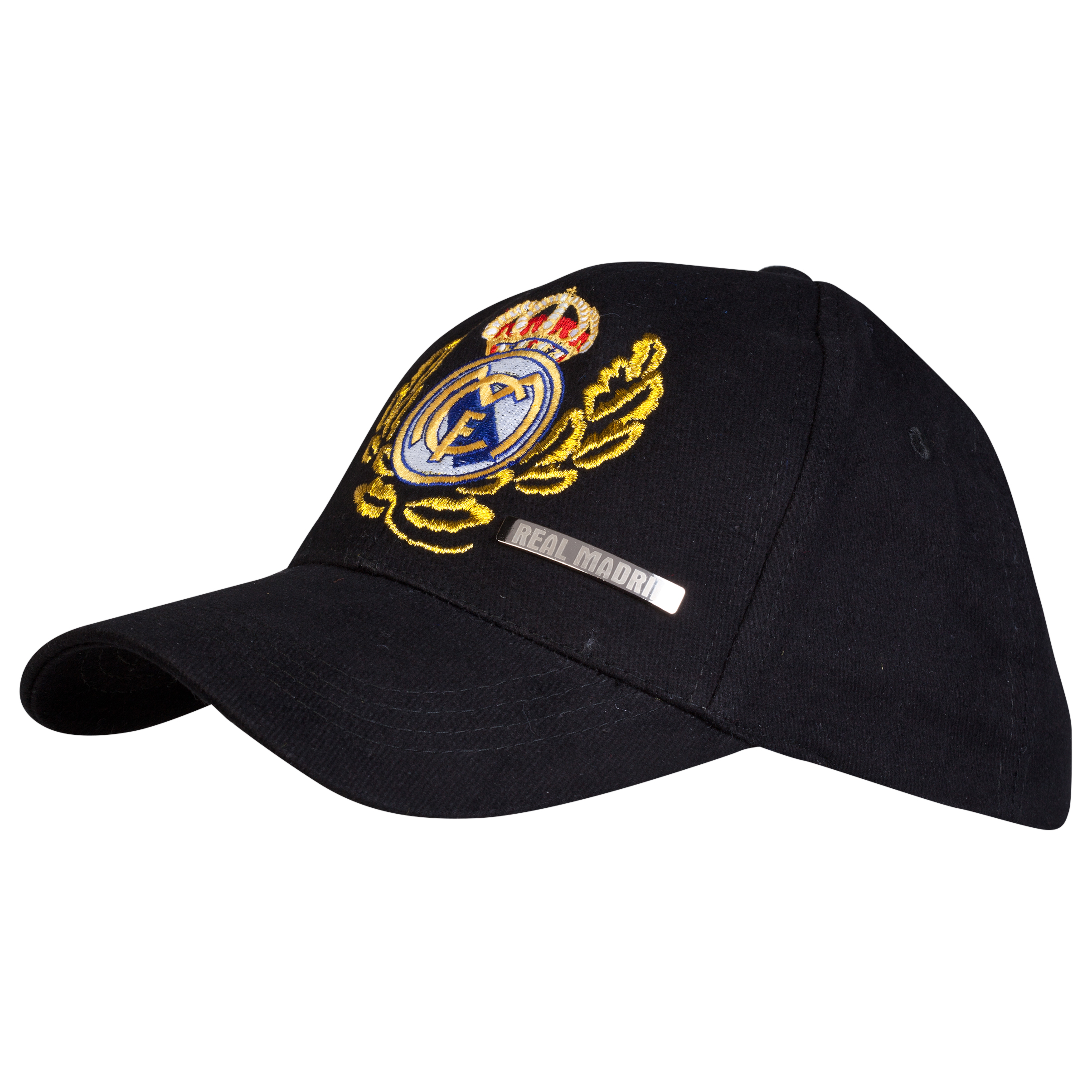 Real Madrid Crest Cap - Black - Junior