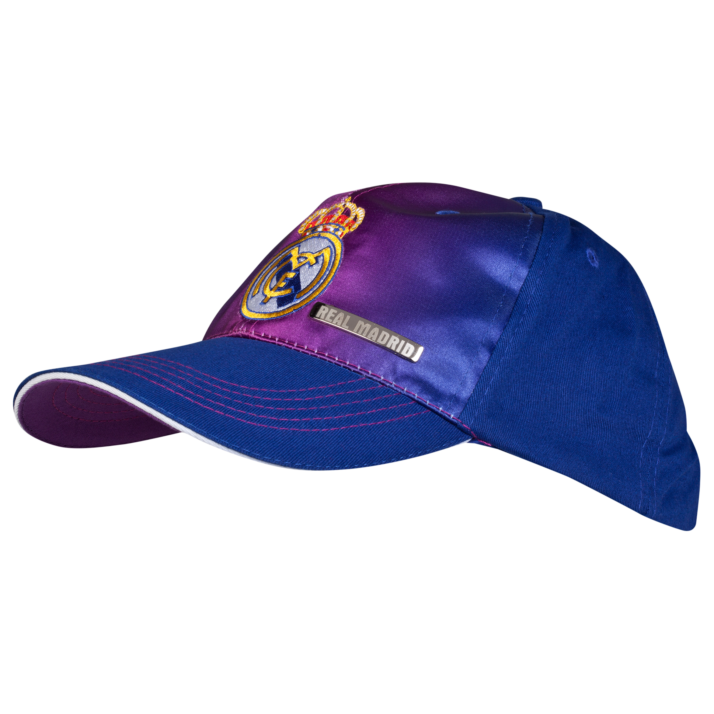 Real Madrid Crest Cap - Purple - Adult