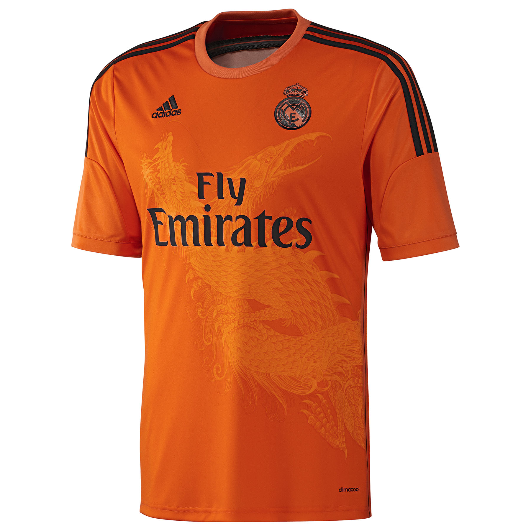 Real Madrid Third Goalkeeper Shirt 2014/15 Orange