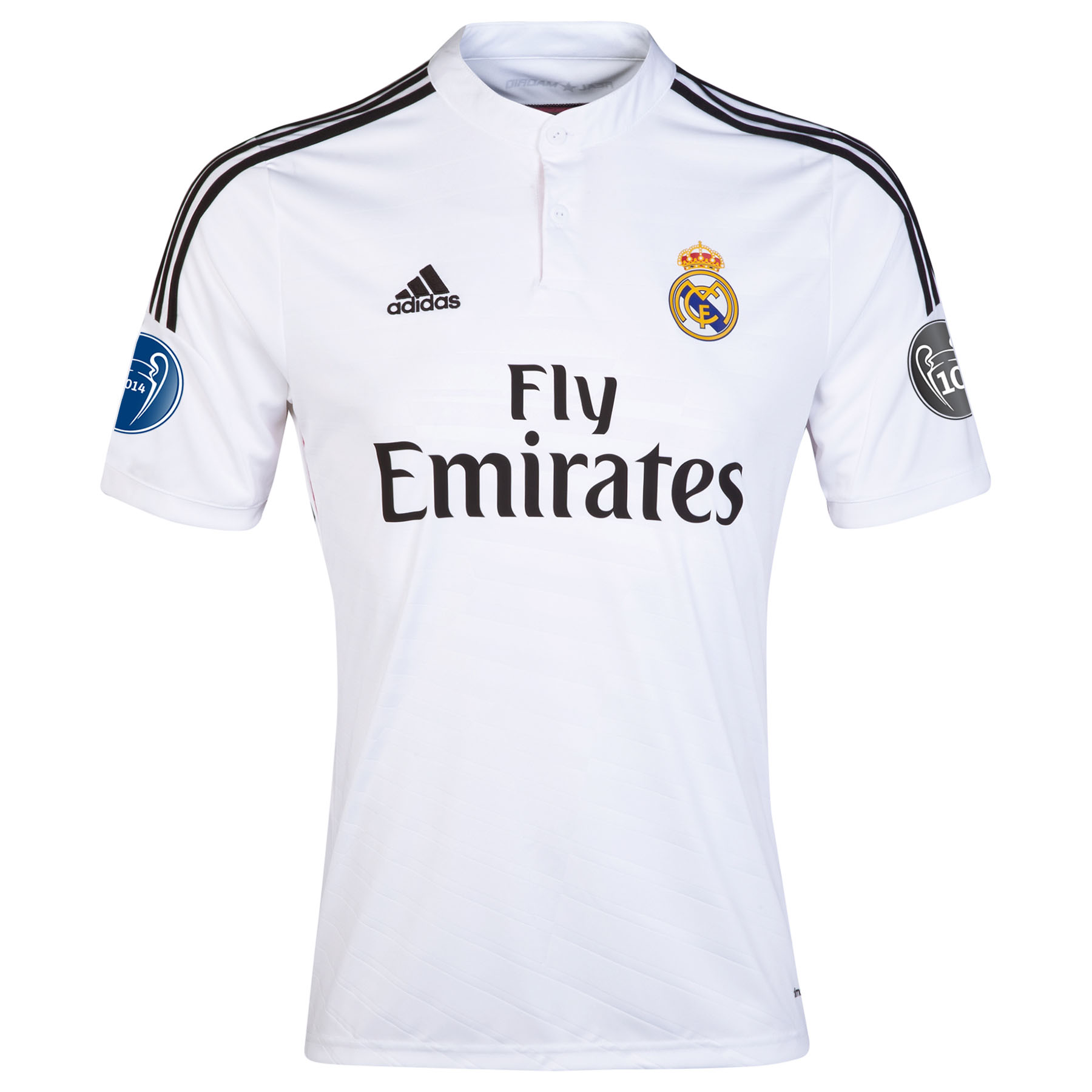 Real Madrid UEFA Champions League Home Shirt 2014/15 - Kids