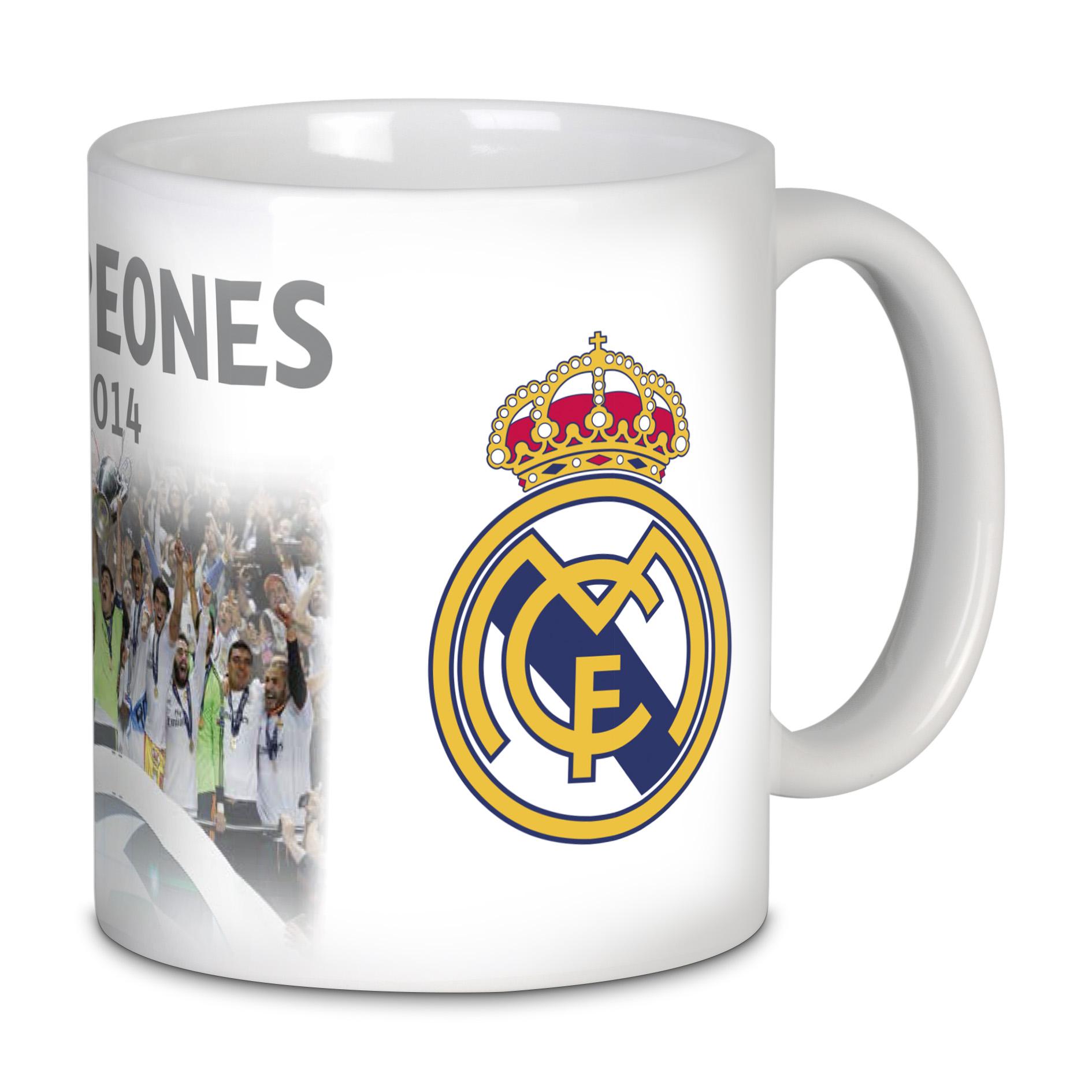 Mug célébration RealMadrid Campeones de Europa