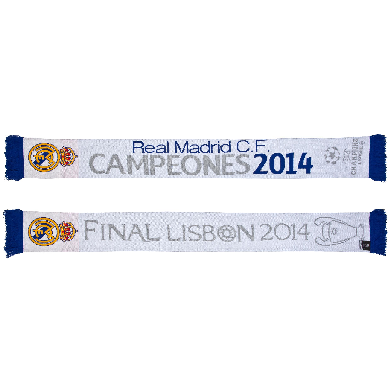Real Madrid UCL Winners 2014 Jacquard Scarf