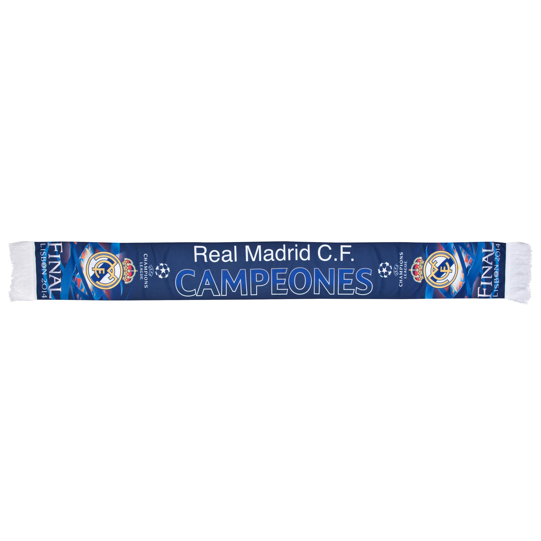 Real Madrid UCL Winners 2014 Printed Scarf