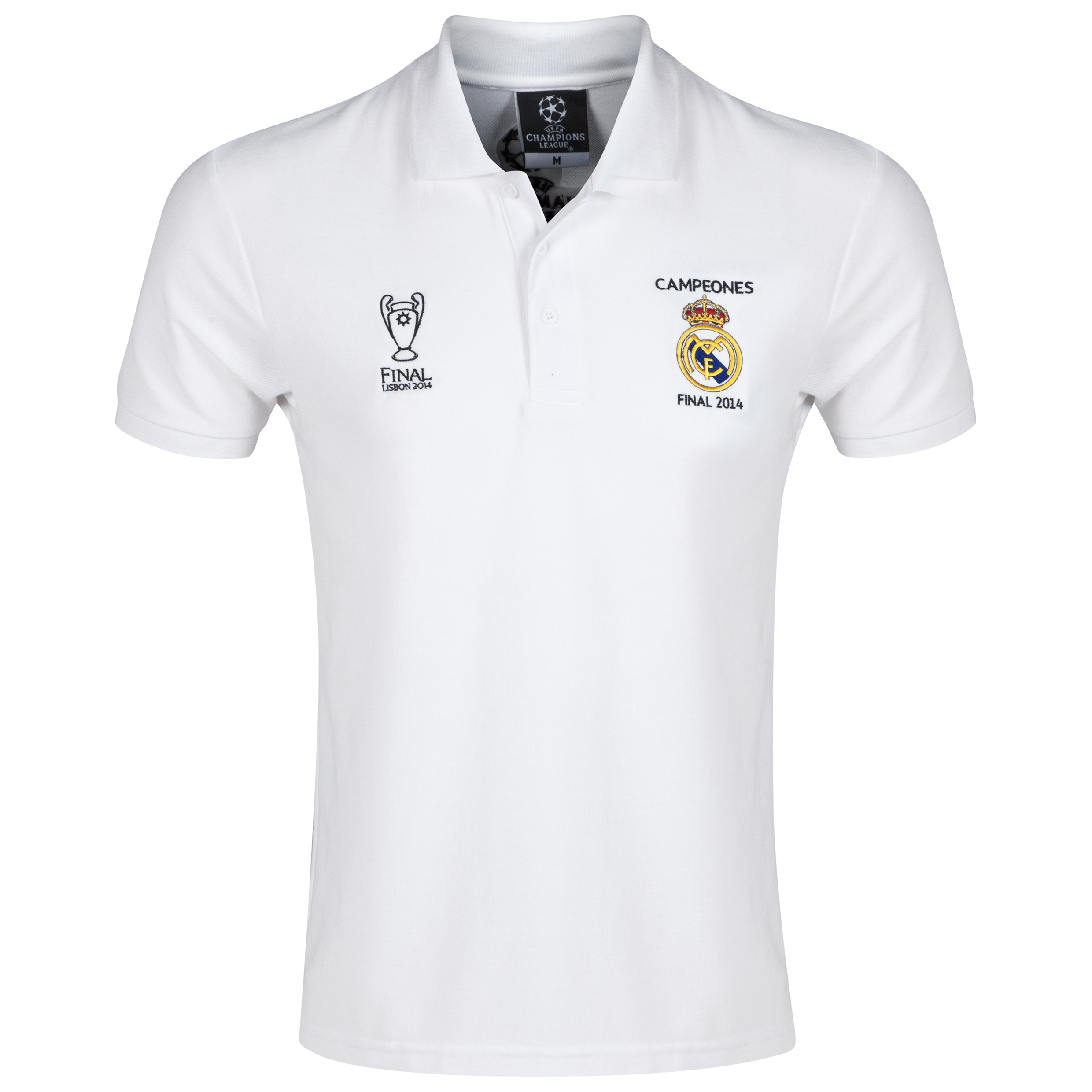 Real Madrid UCL Winners 2014 Campeones Polo