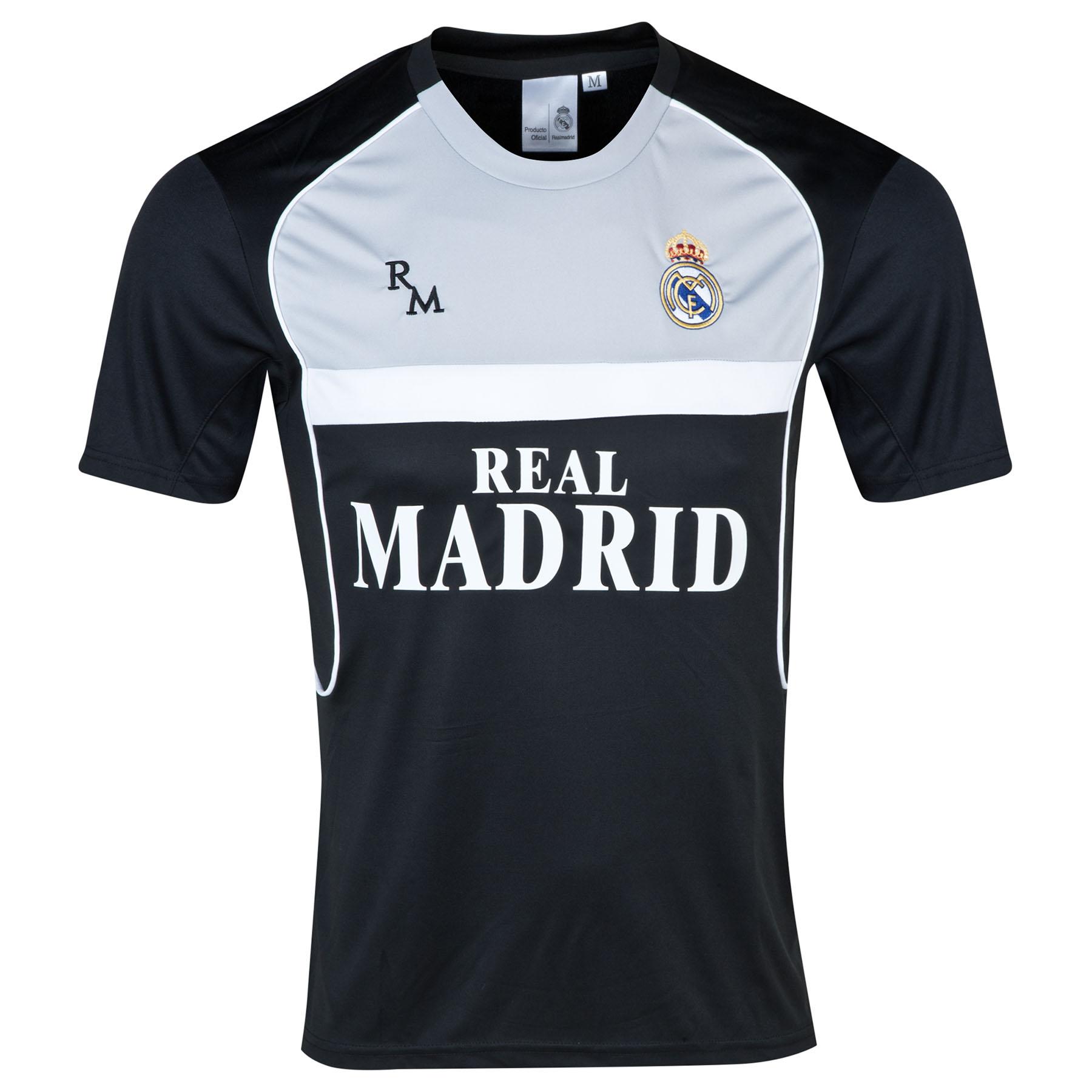 Camiseta para Hombre Real Madrid - Negra