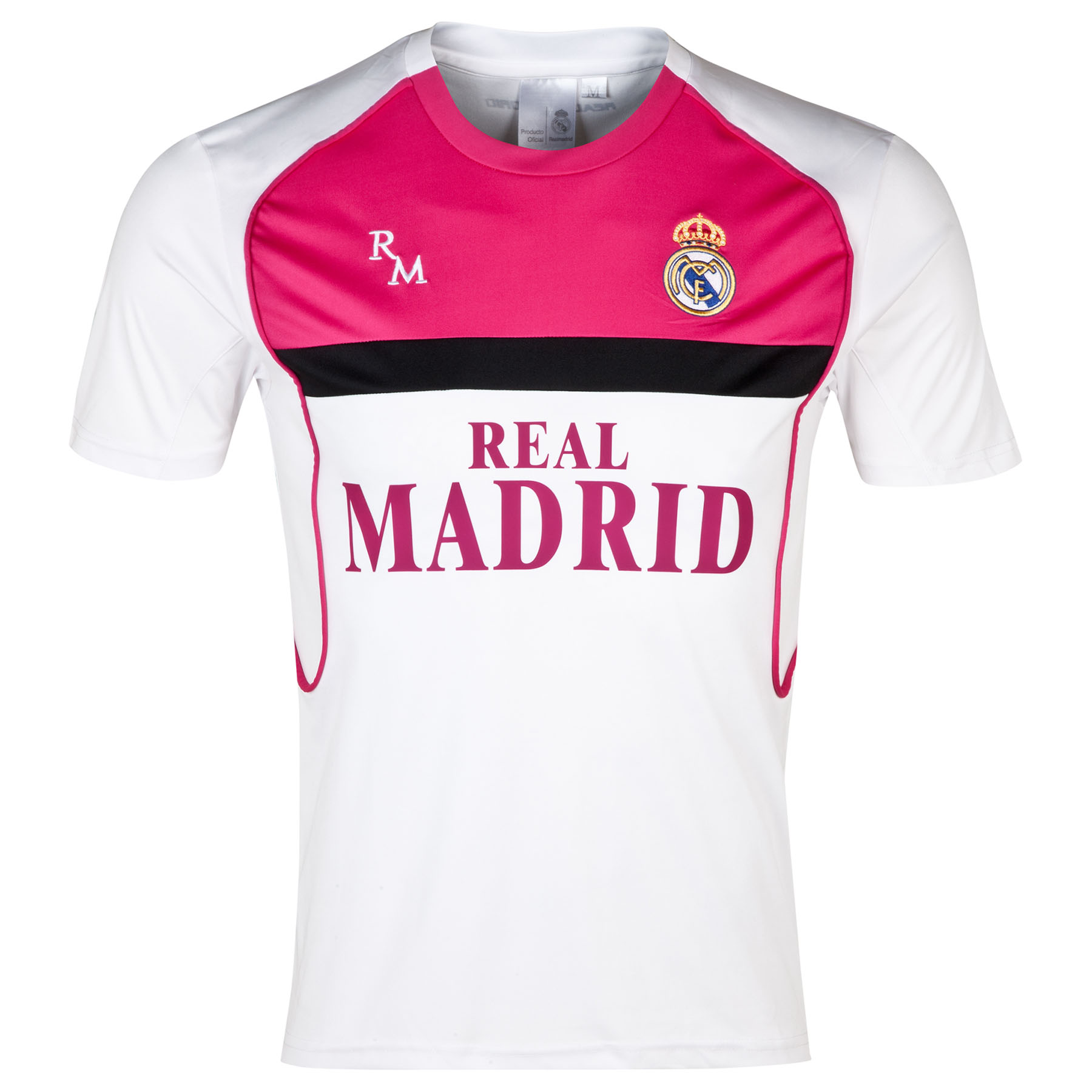 Real Madrid Fan T-Shirt - White - Mens