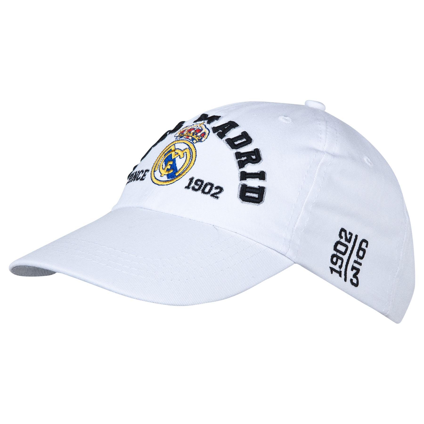 Real Madrid Crest Cap - White - Adult