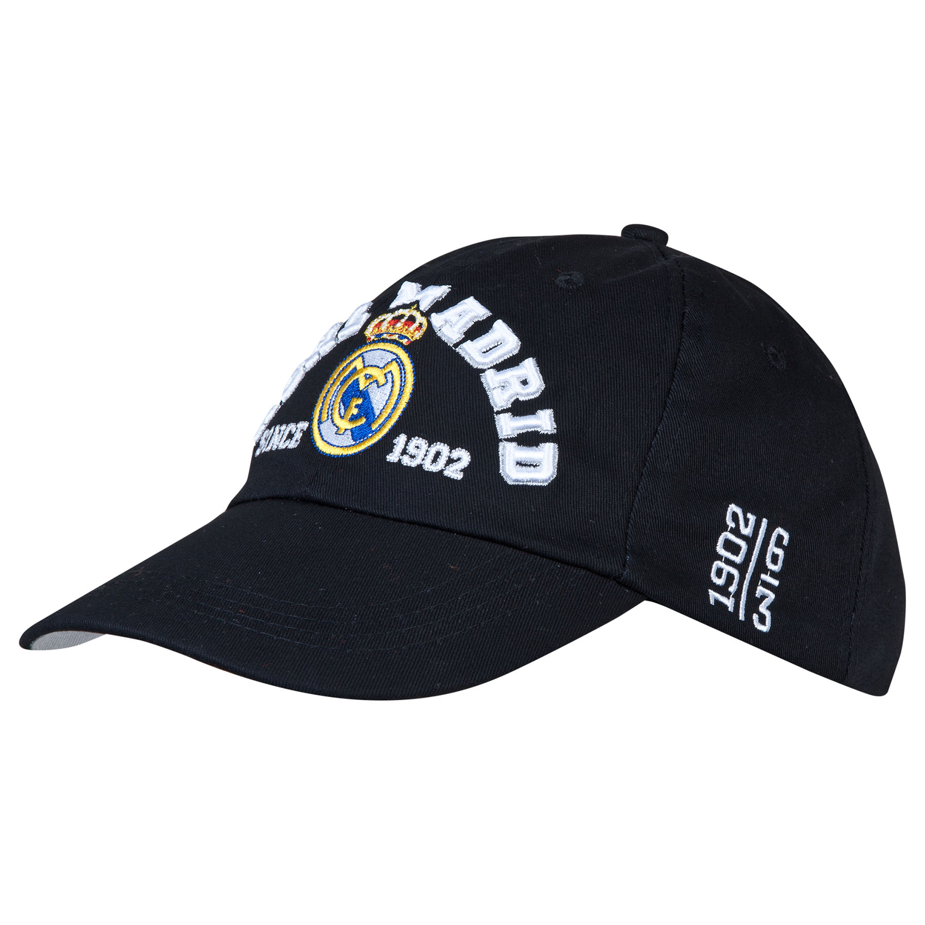 Real Madrid Crest Cap - Black - Adult