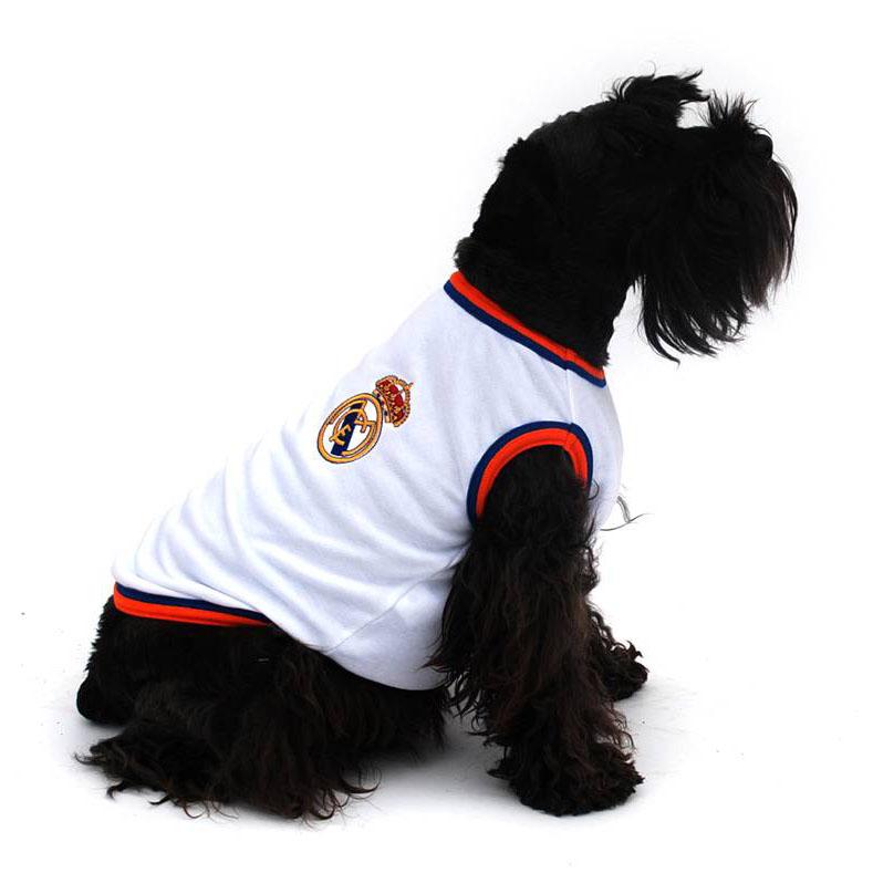 Camiseta Real Madrid para tu mascota - Talla M / 30cm