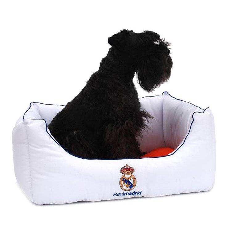 Cama Real Madrid para tu mascota 60 x 53 x 26cm