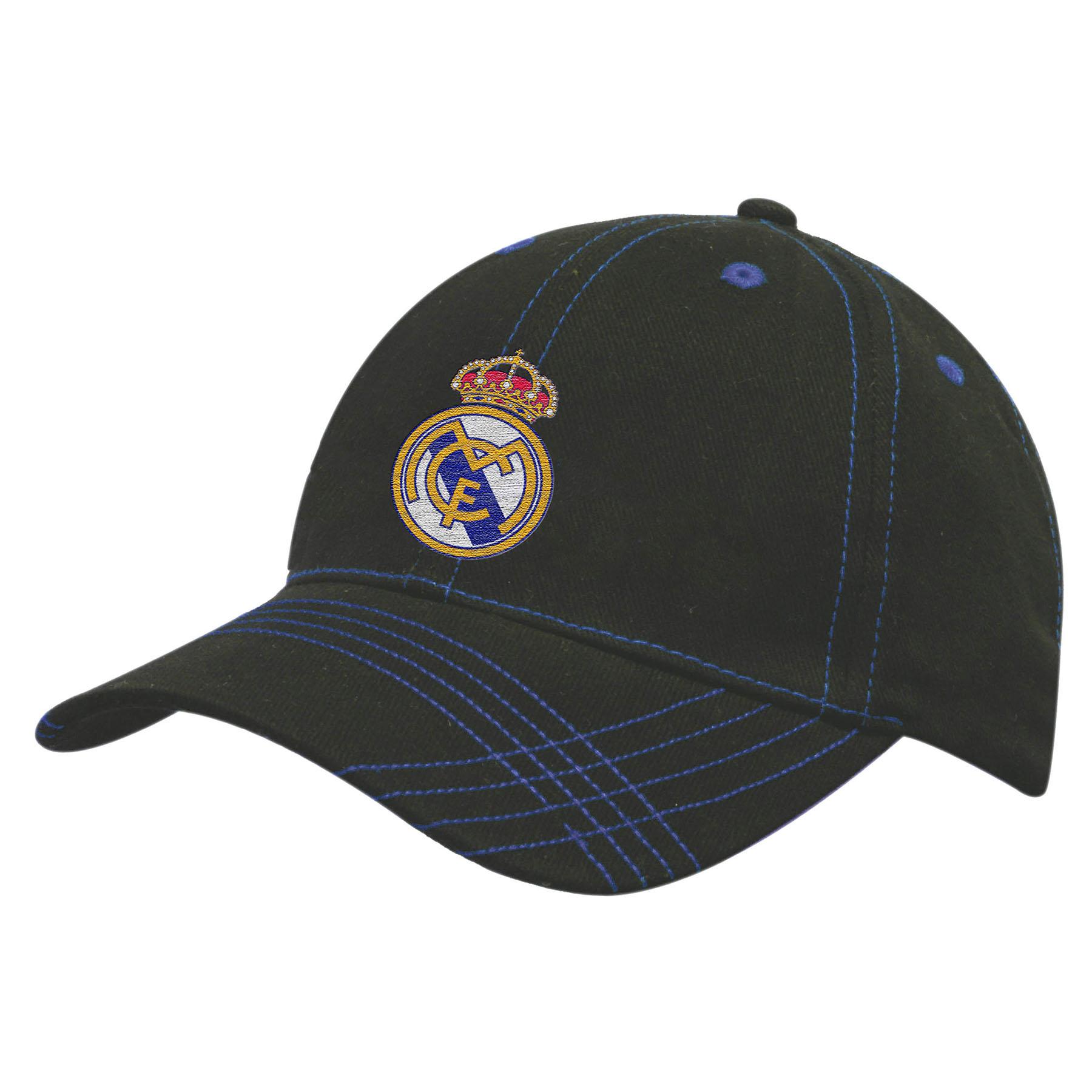 Real Madrid UEFA Champions League Cap - Black - Adult
