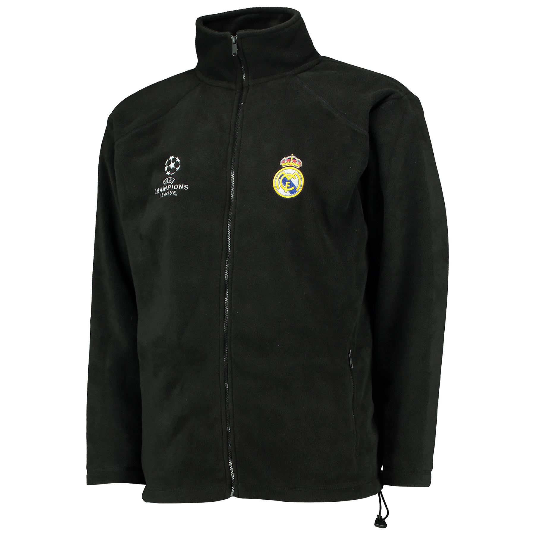 Real Madrid UEFA Champions League Soft Shell Jacket - Black - Mens