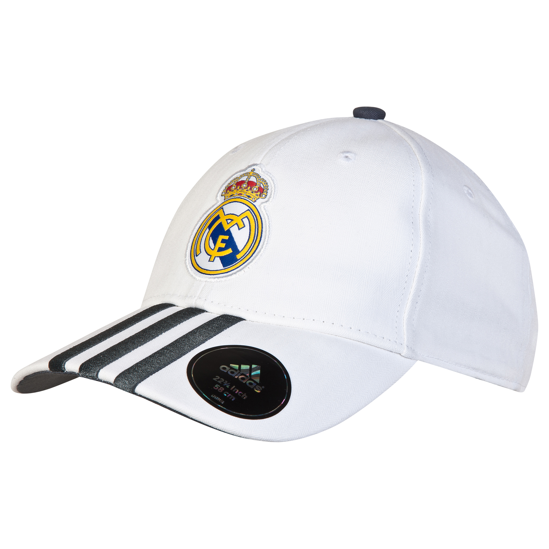 Gorra con 3 rayas del Real Madrid - Blanco