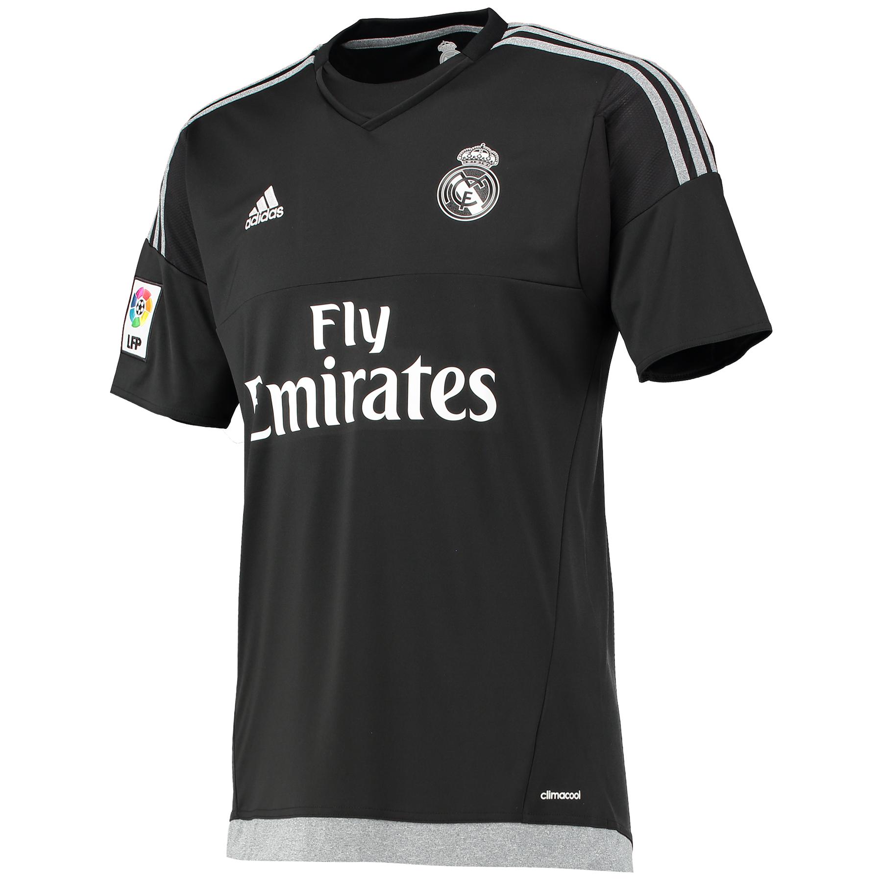 Real Madrid – Maillot gardien à domicile 15/16 – Noir